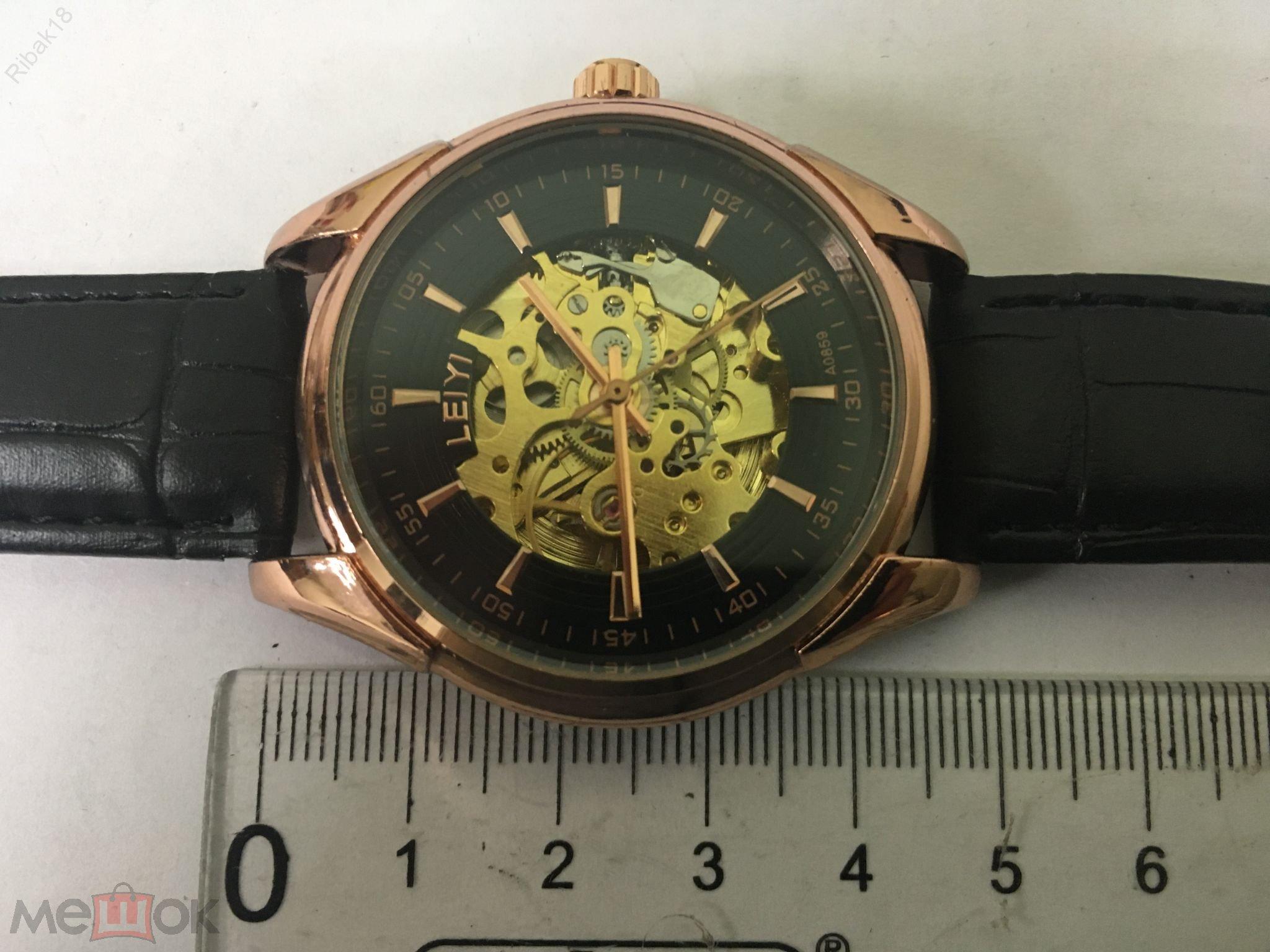 Часы мужские швейцарские механические стоимость 0 5
