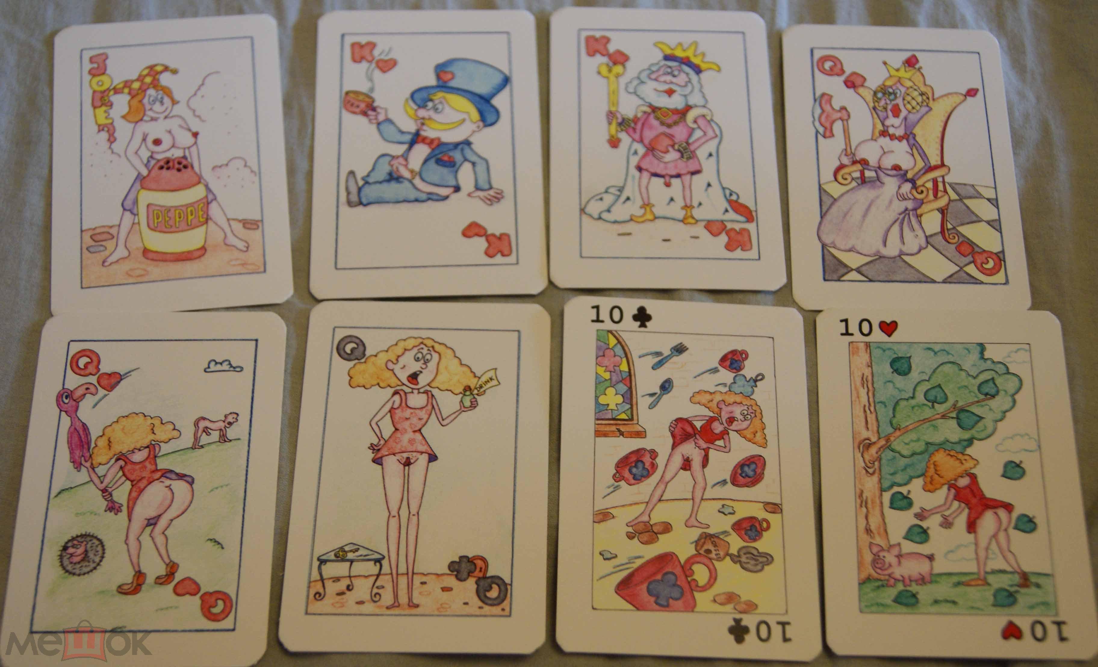 карты игральные камасутра