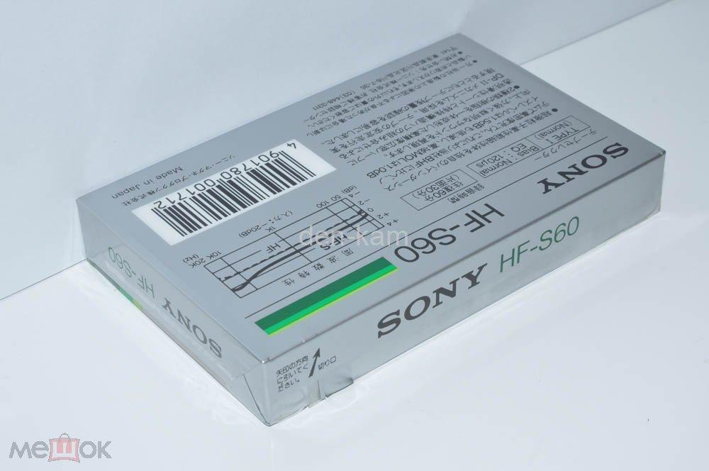 SONY HF-S 60 1985 (Type I) JAPAN MARKET  (1812)