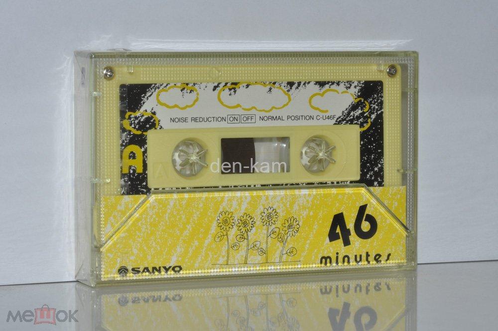 SANYO C-U46F (Y)(R)(B)(W)(A)  1986 (Type I) Made in Japan (1907) 5 КАССЕТ