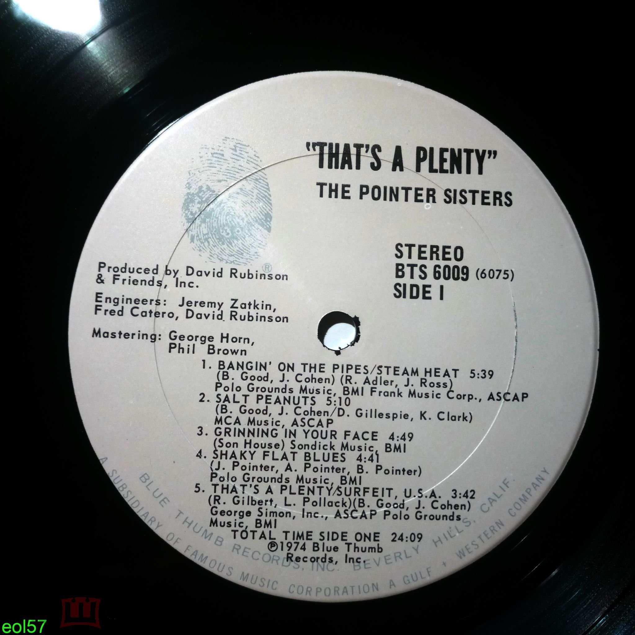 The Pointer Sisters* – That's A Plenty(Ё)