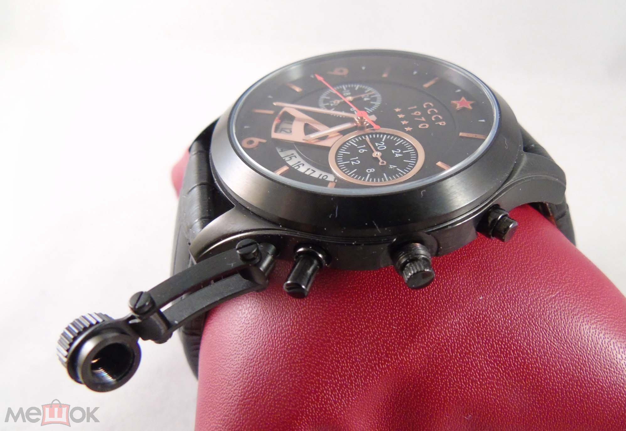 4843c318cf4a Серьёзные Мужские Часы от бренда СССР. Модель CP-7011 Подводная ...