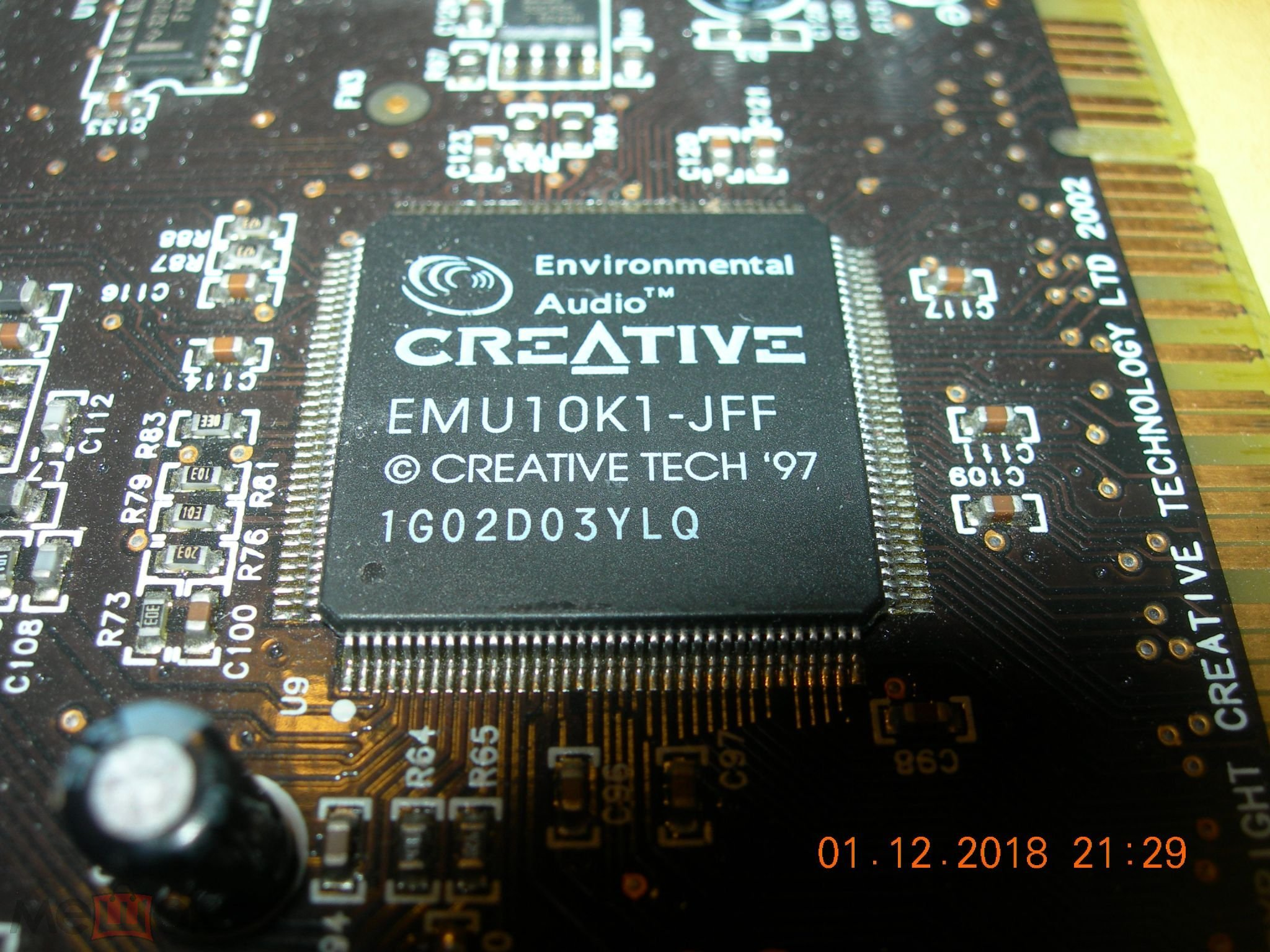CREATIVE EMU10K1-JFF SOUND CARD DRIVERS (2019)