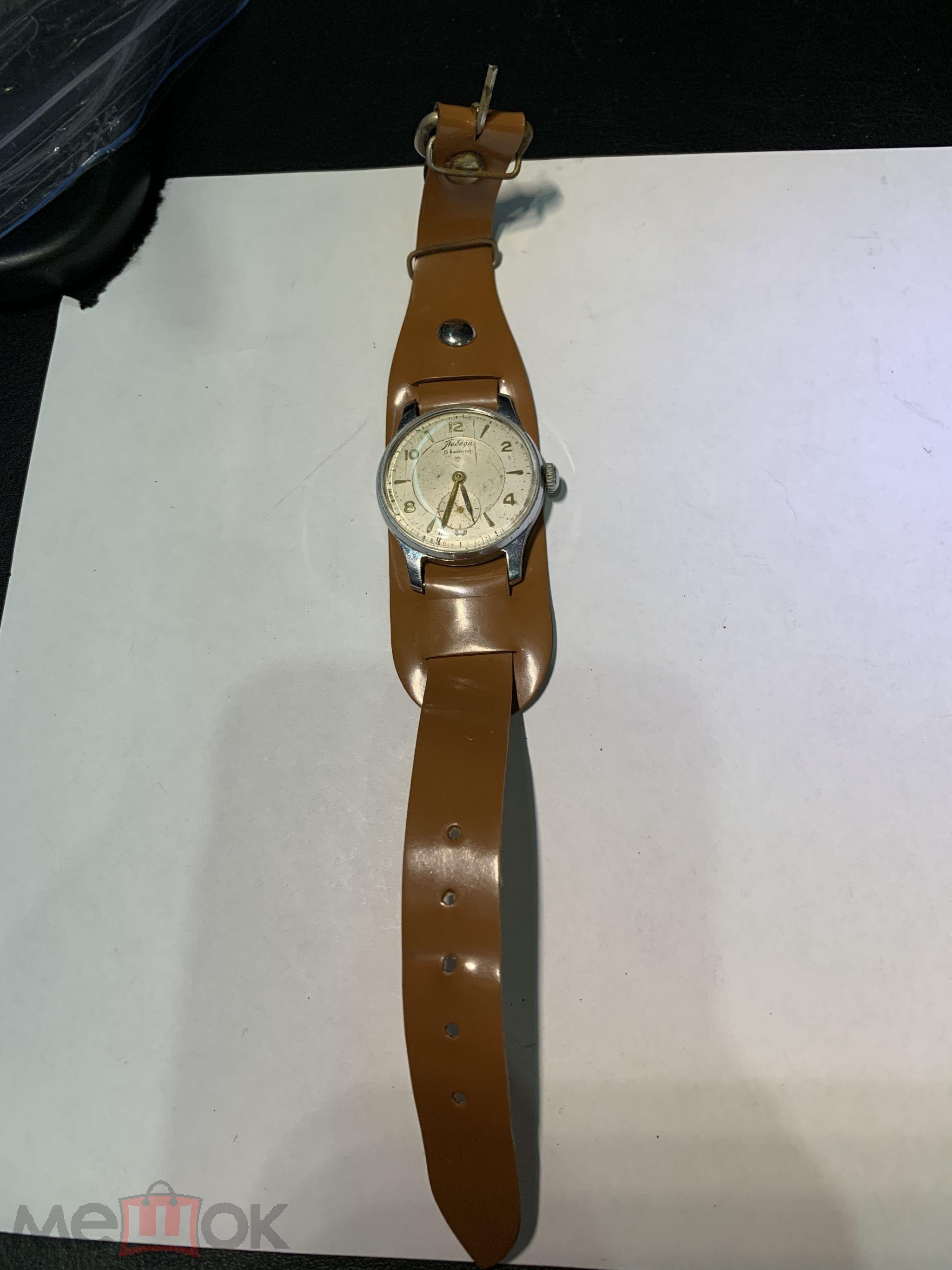 Старинные часы Победа СССР ffe9c85846452