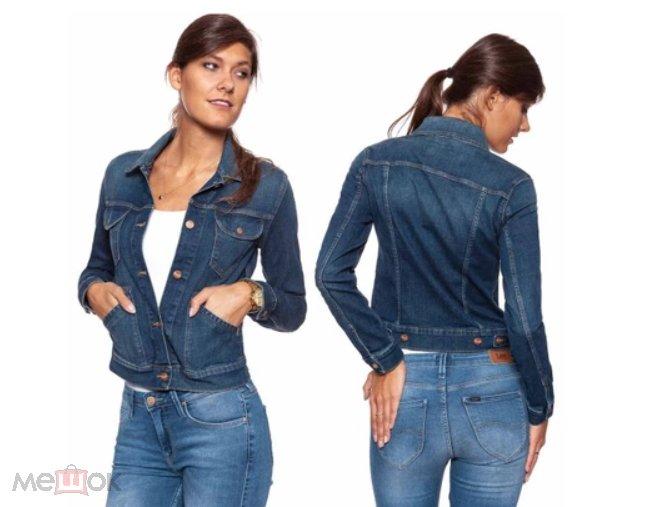 2e1d5cf7f63 Женская джинсовая куртка Wrangler номер модели W433-F7-28X NEW в наличии р.  XS