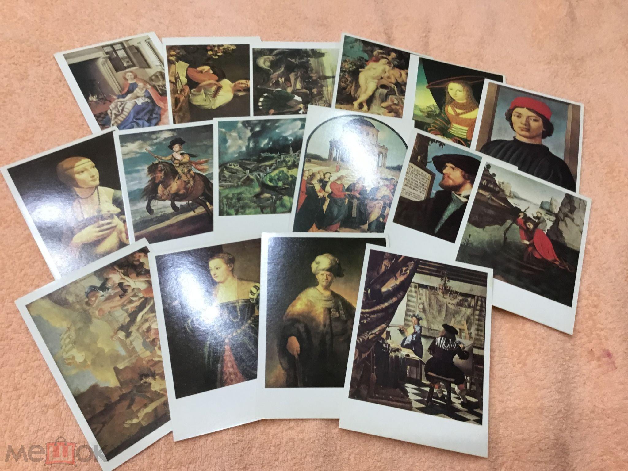Прощенному воскресенью, набор открыток природа россии