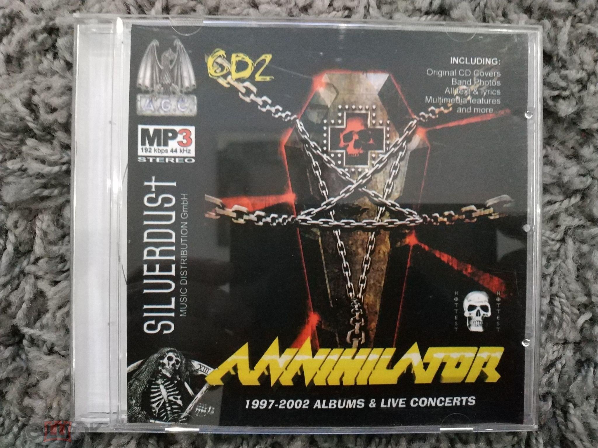 Annihilator, MP3, Комплект Из 2 CD, 12 Albums & Live