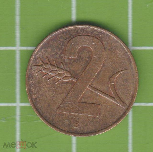 Швейцария 2 раппена 1963 (М3) 2