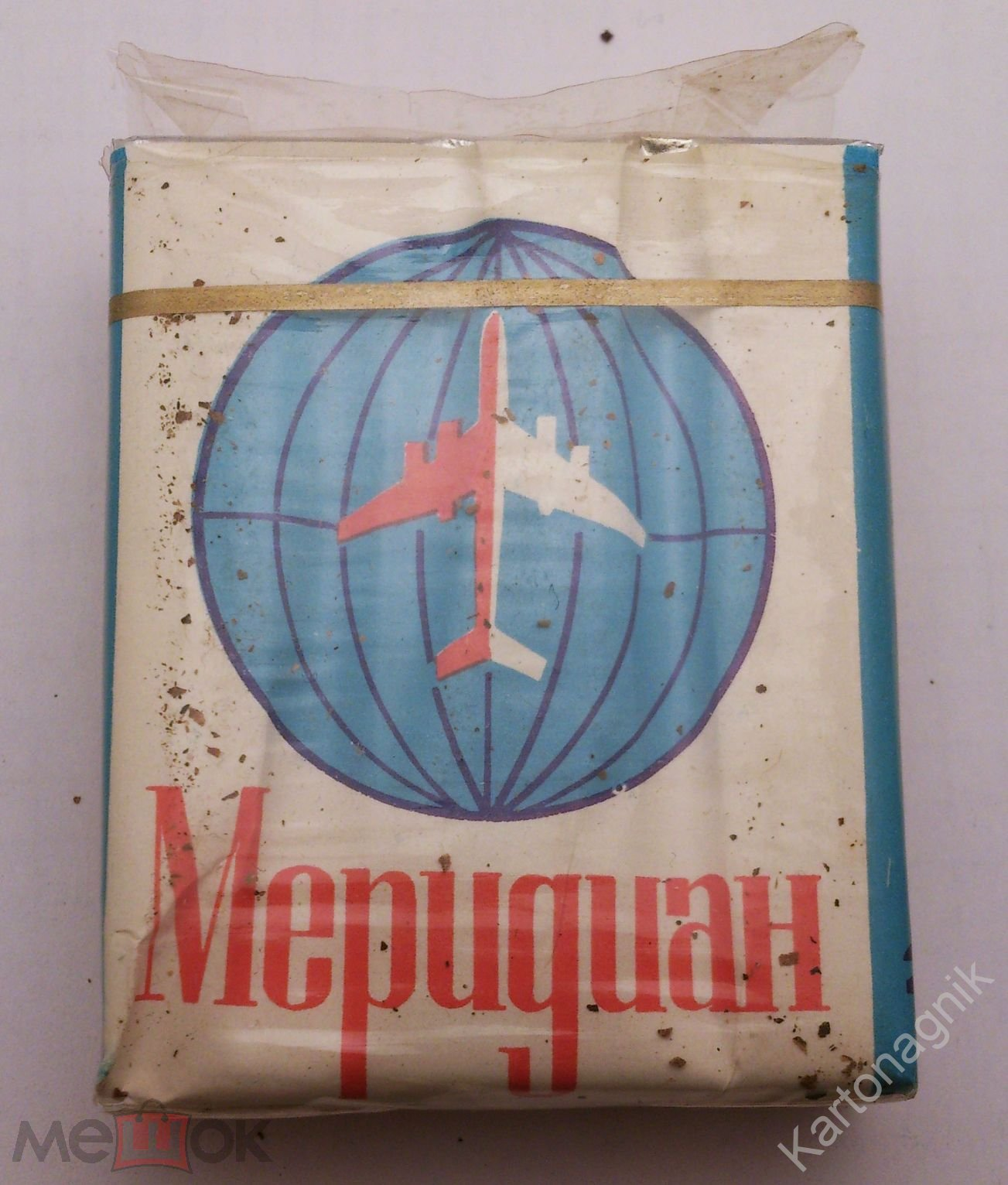 Сигареты Меридиан целая