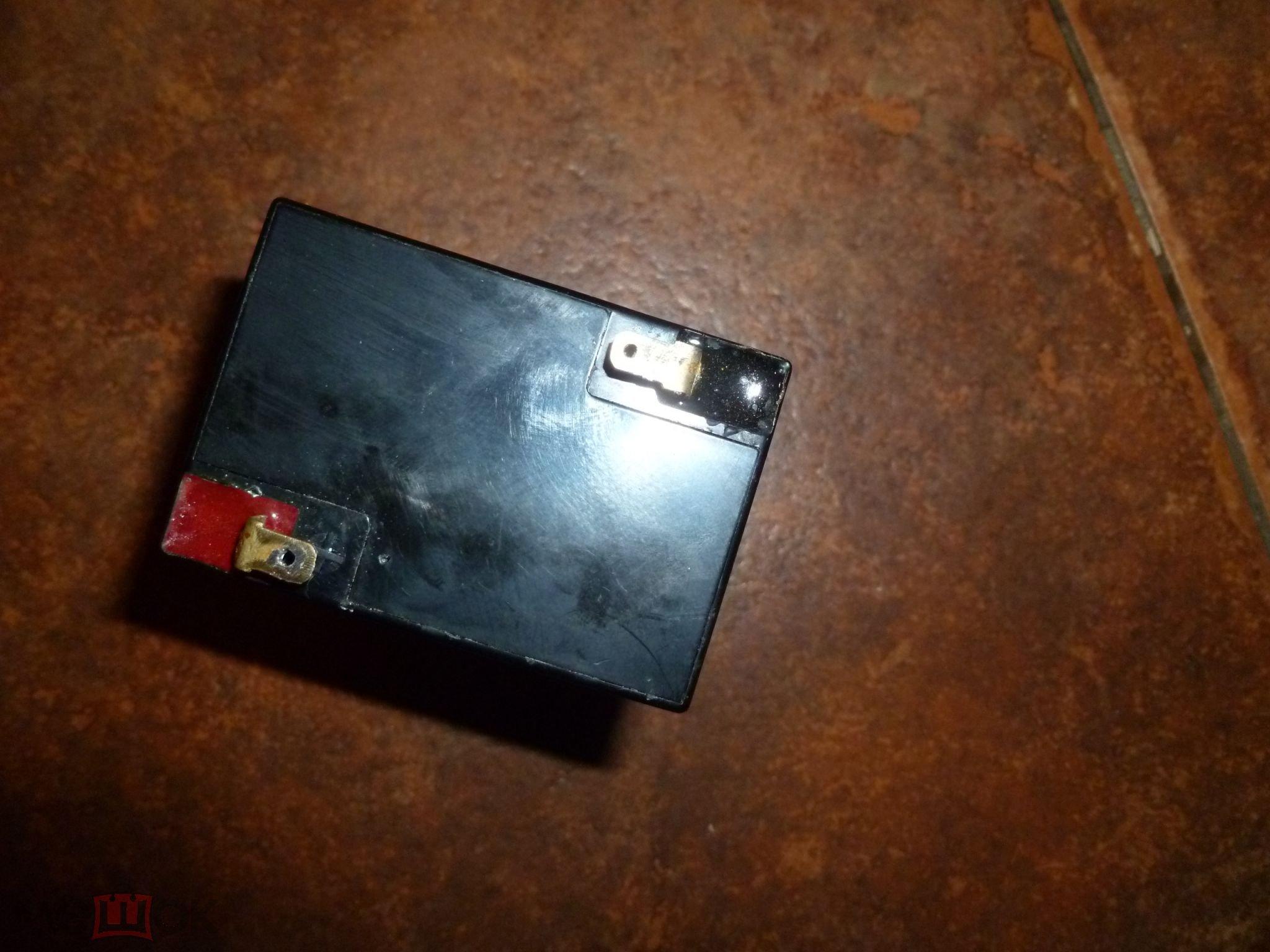 Батарея аккумуляторная, аккумулятор 6В 4Ач