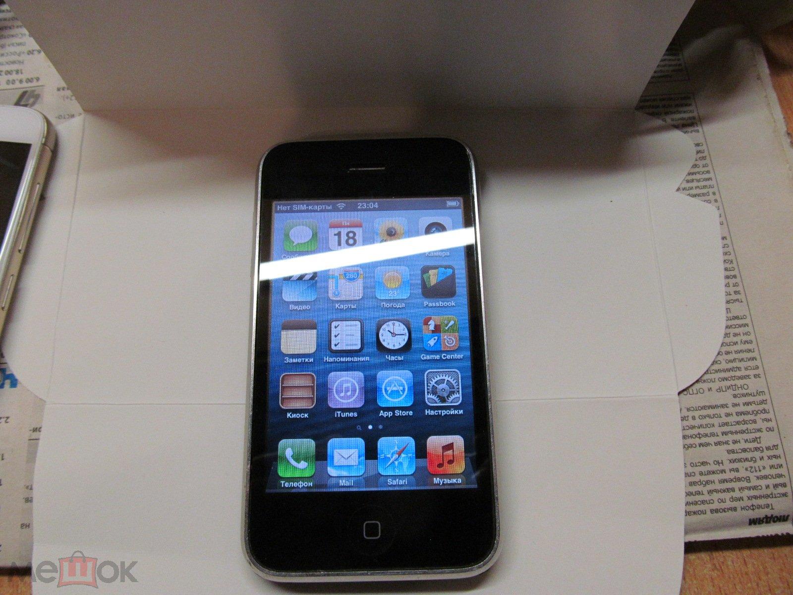 все об iphone 3gs