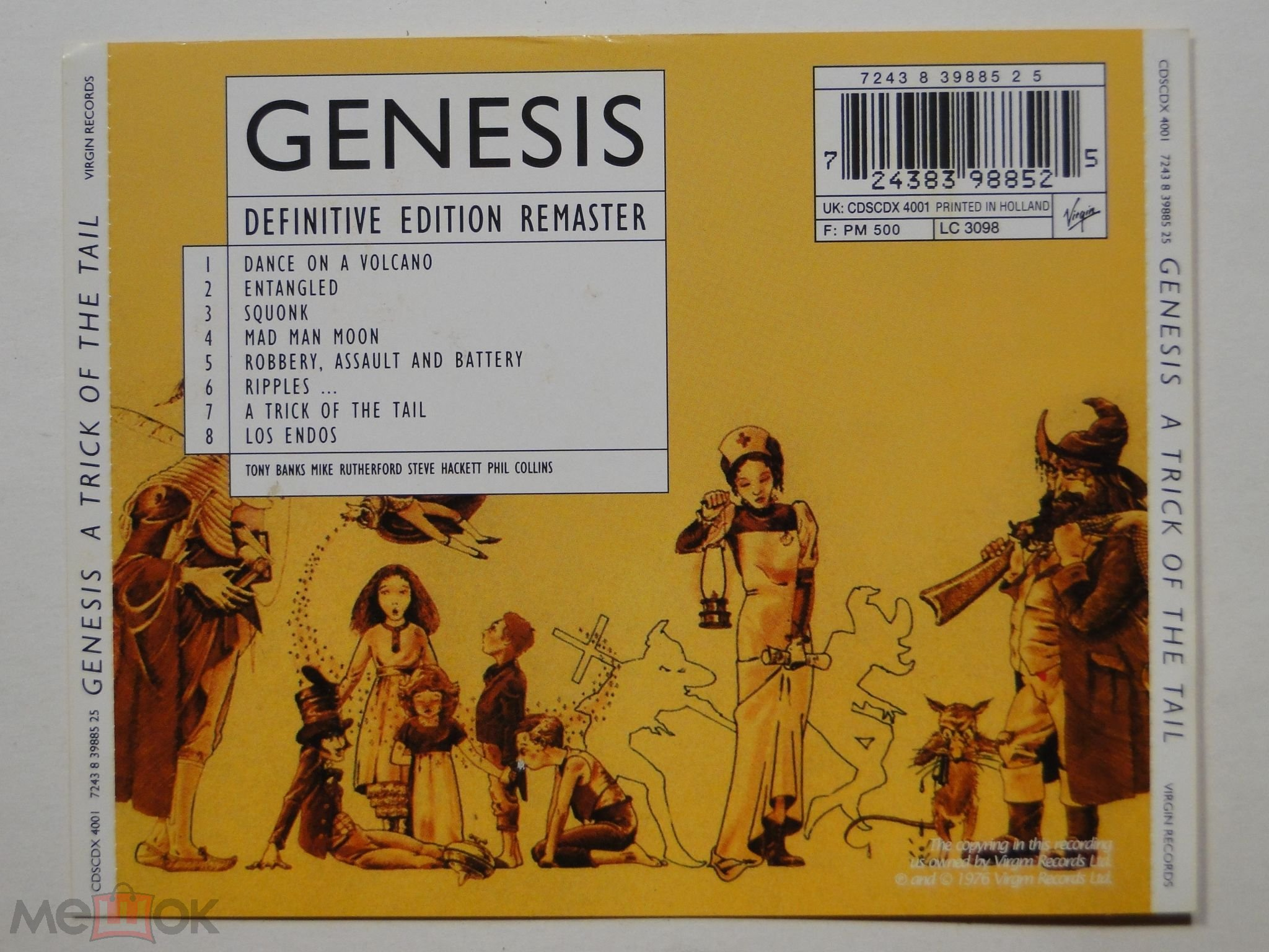 СD Genesis 1976 A Trick Of The Tail