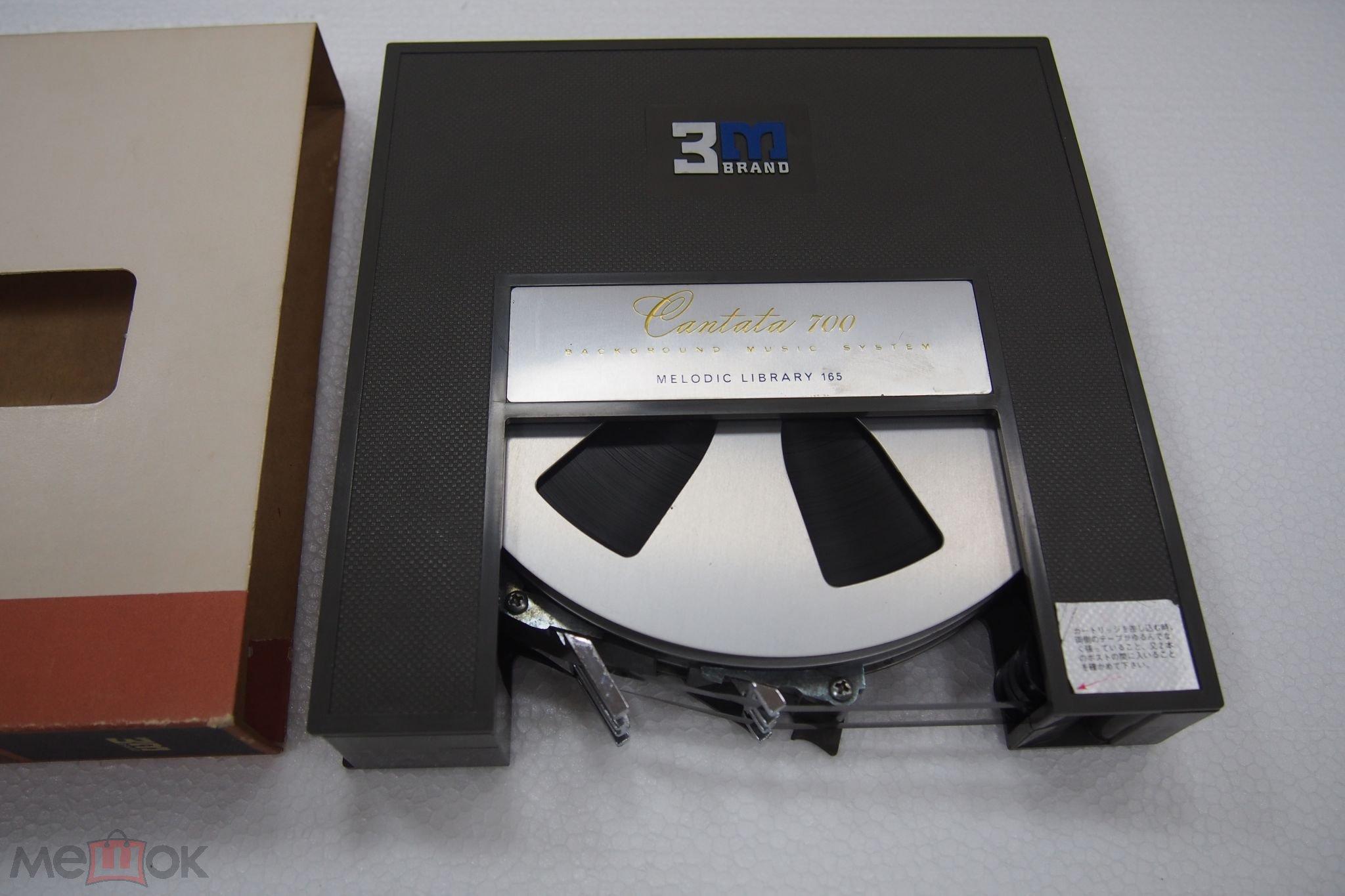 3M картридж, для катушечных дек, фирменный. Редкость. Япония.