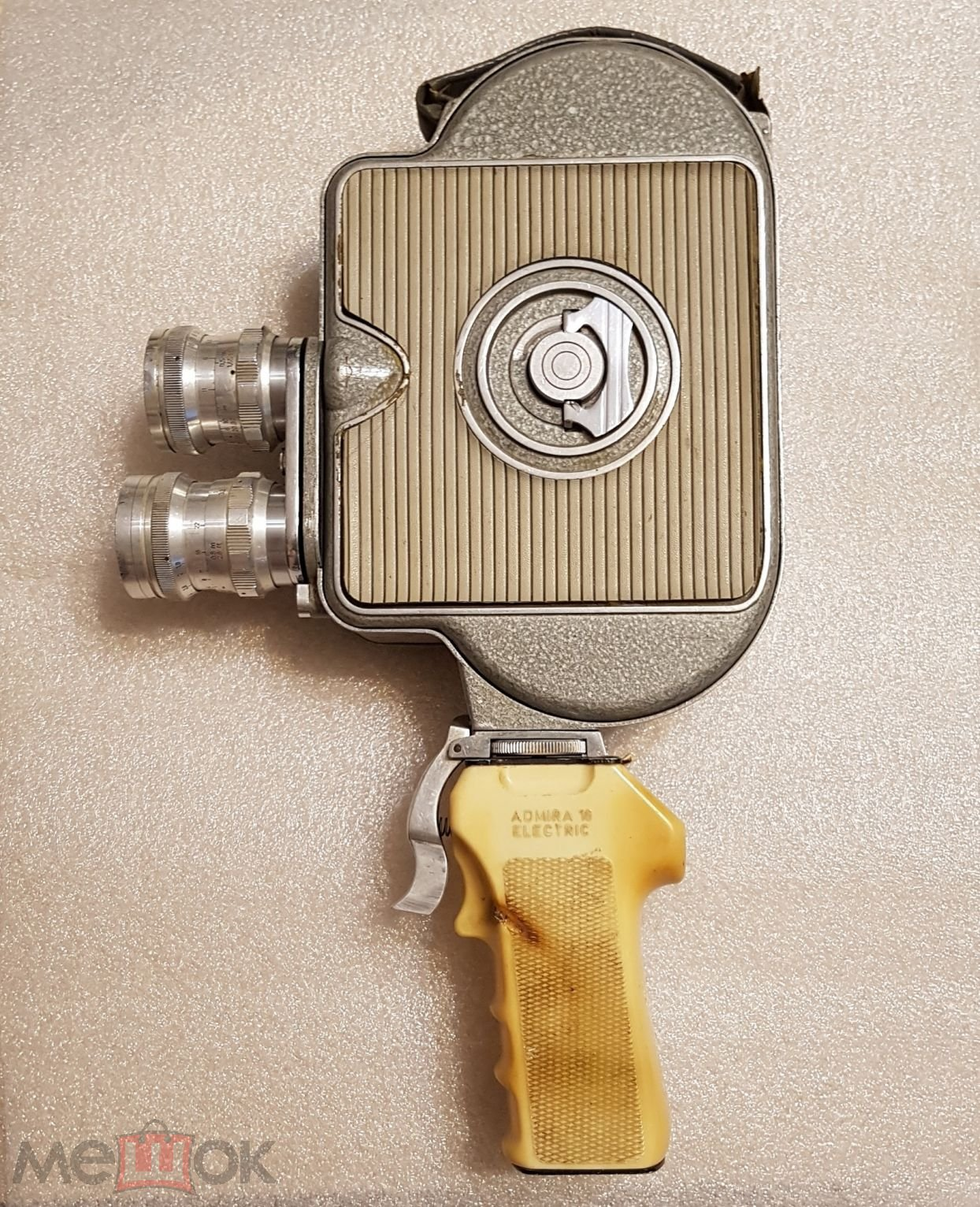 Кинокамера Admira 16А Electric. Чехословакия(1958 г.)   ТОРГ!!!
