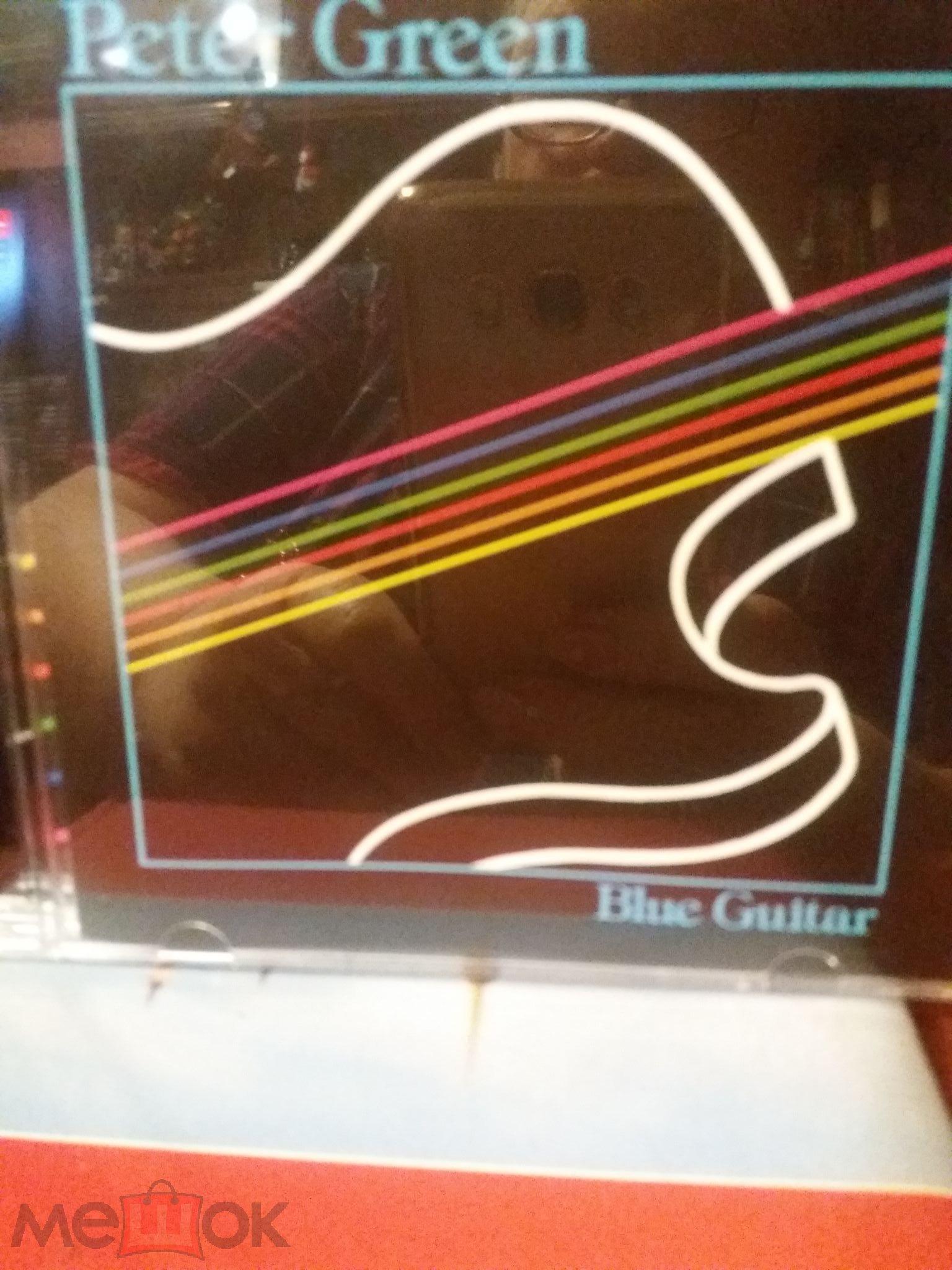 CD PETER GREEN - BLUE GUITAR