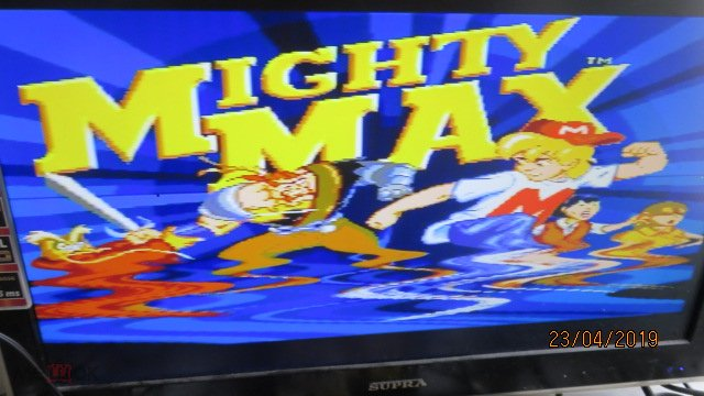 КАРТРИДЖ СЕГА SEGA THE ADVENTURES OF MIGHTY MAX