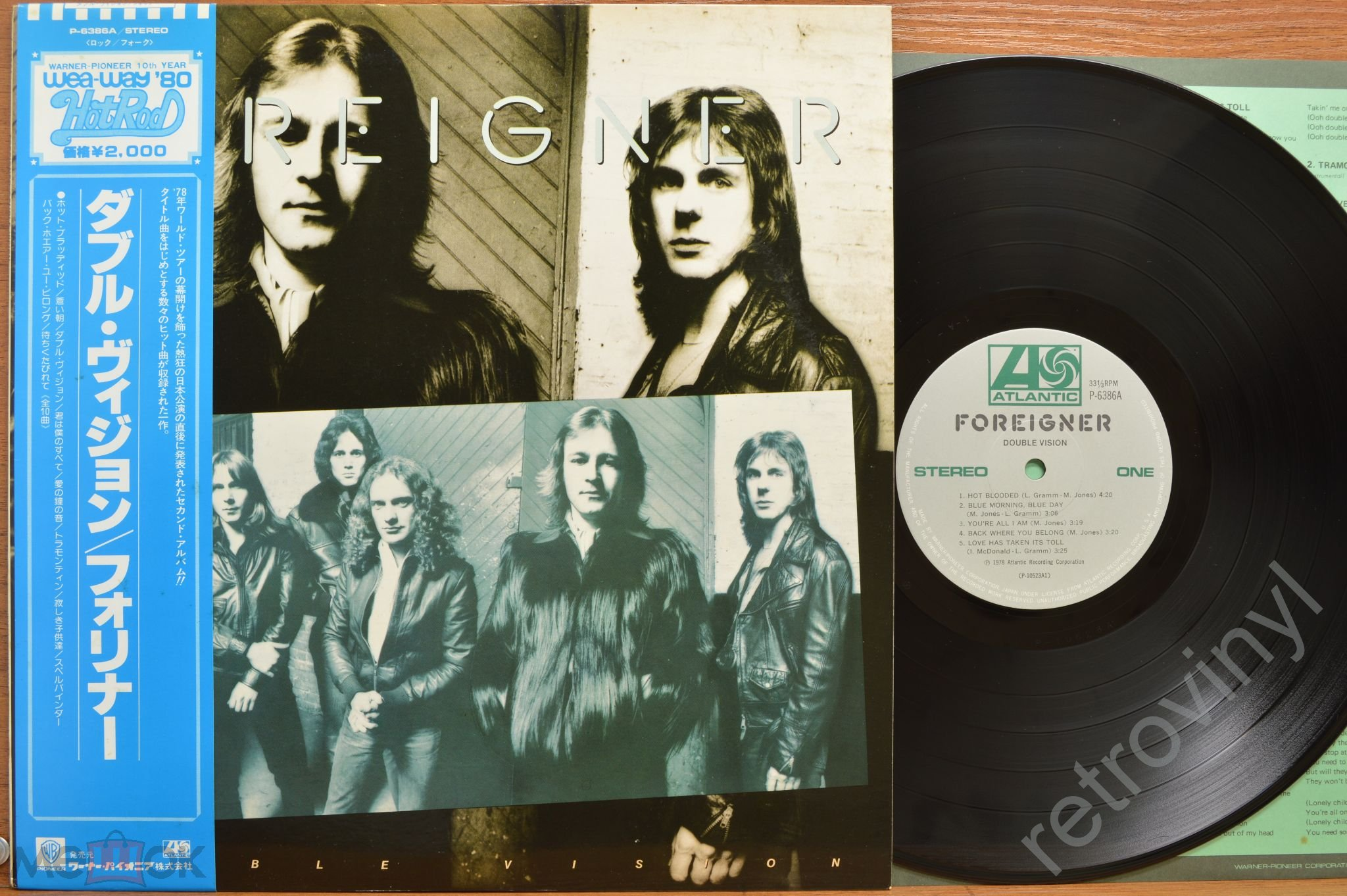 DOKKEN - Beast From The East - 2LP - 35P1-2276/7 Warner-Pioneer ORIGINAL 1988 года  JAPAN пресс MINT