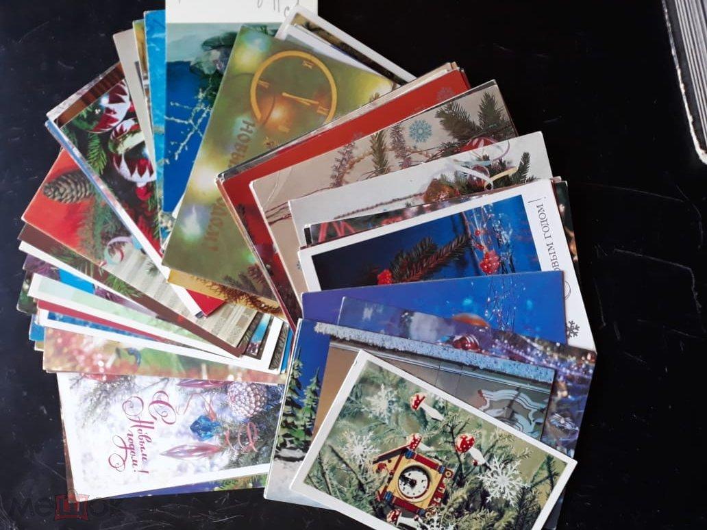 Картинки про, набор открыток почтовых