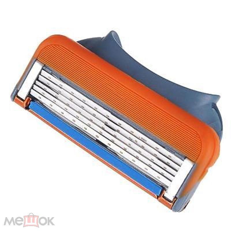 Набор комплект лезвий для бритья КАССЕТЫ ЛЕЗВИЯ 12 штук для GILLETTE FUSION