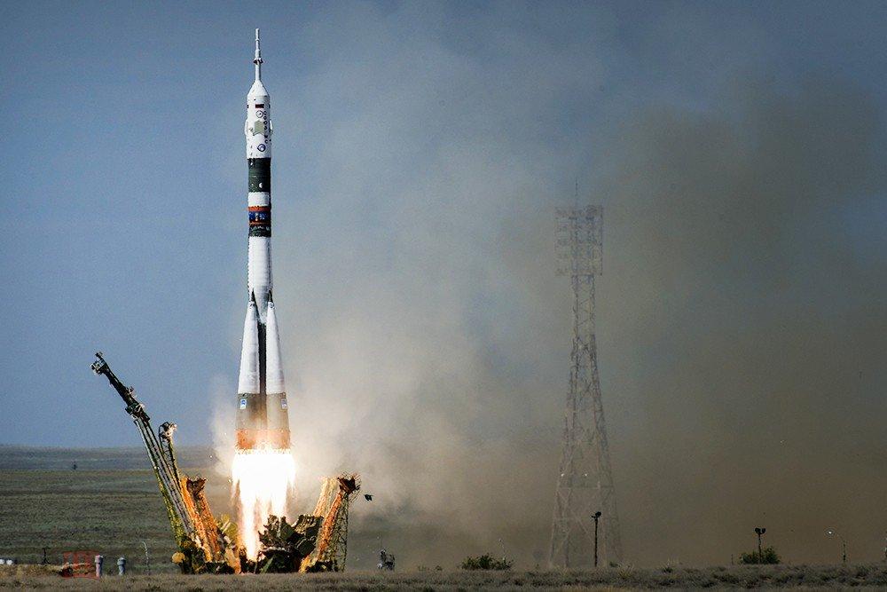 Модель ракетоносителя СОЮЗ-М