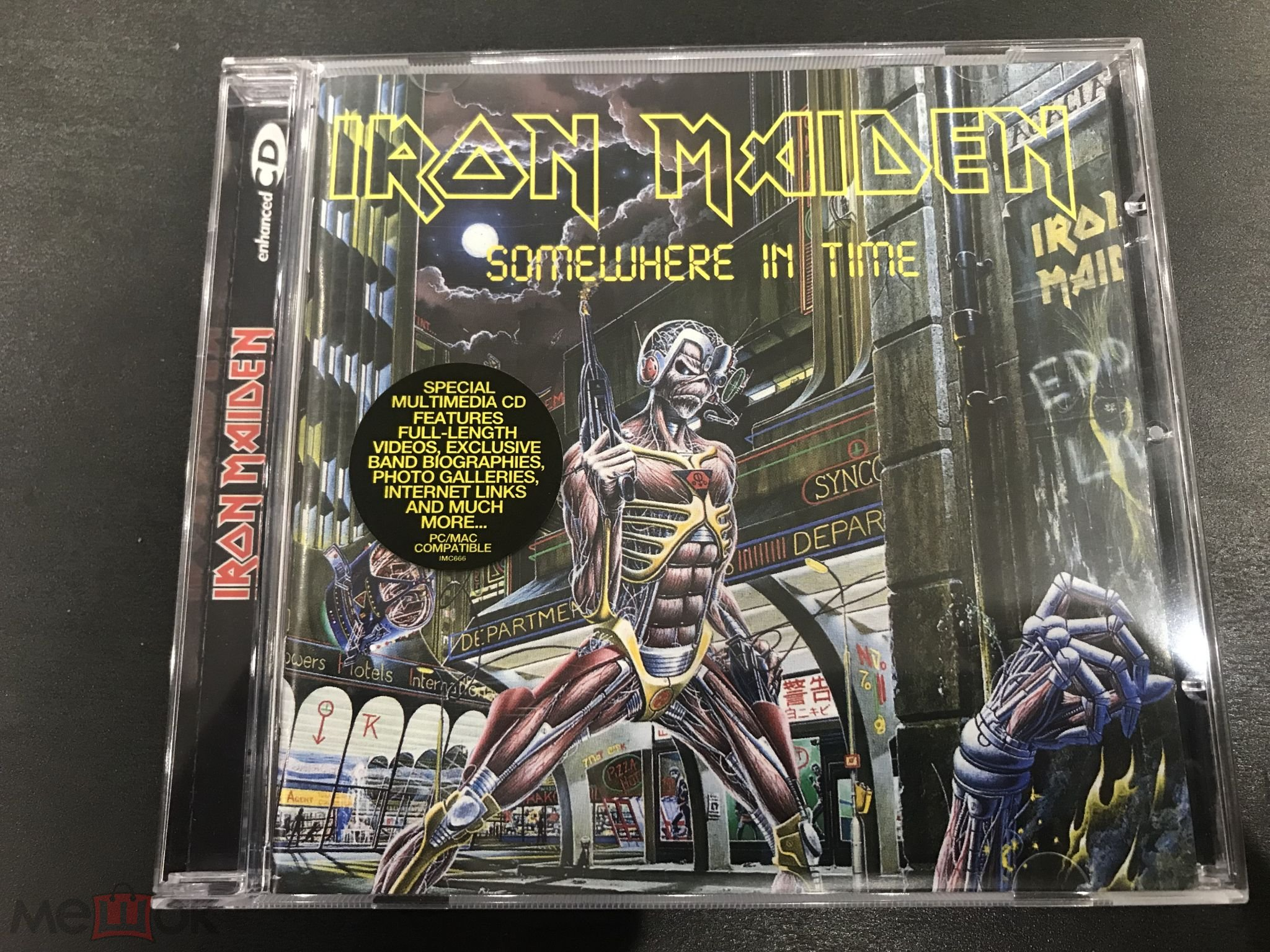 Iron Maiden Somewhere In Time фирма