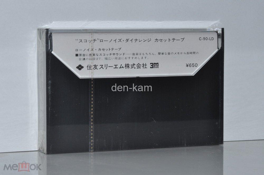 SCOTCH C-90 LD 1973 (Type I) JAPAN MARKET (1838) РЕДКАЯ !!!