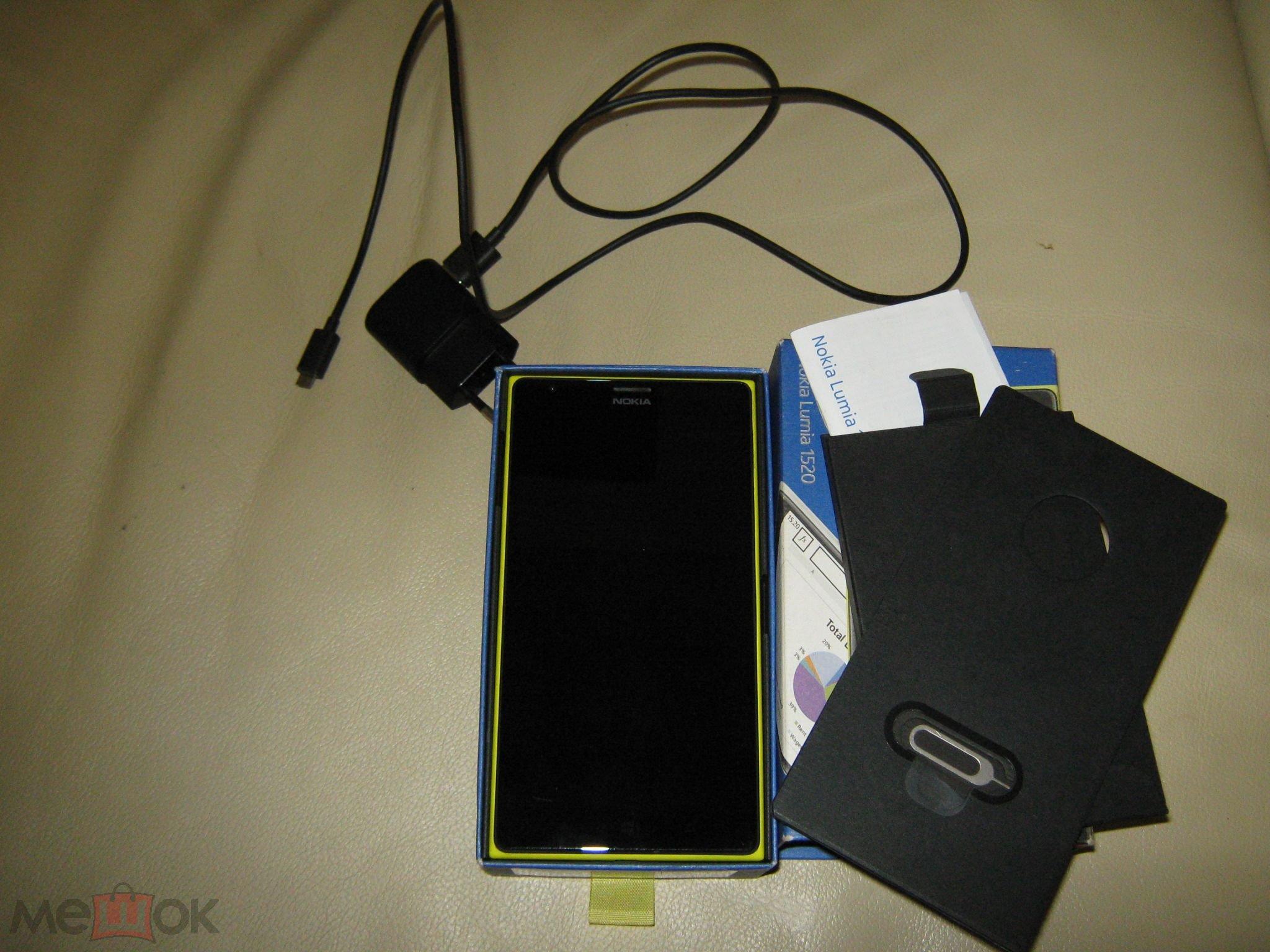 Смартфон Nokia Lumia 1520 оригинал  С РУБЛЯ