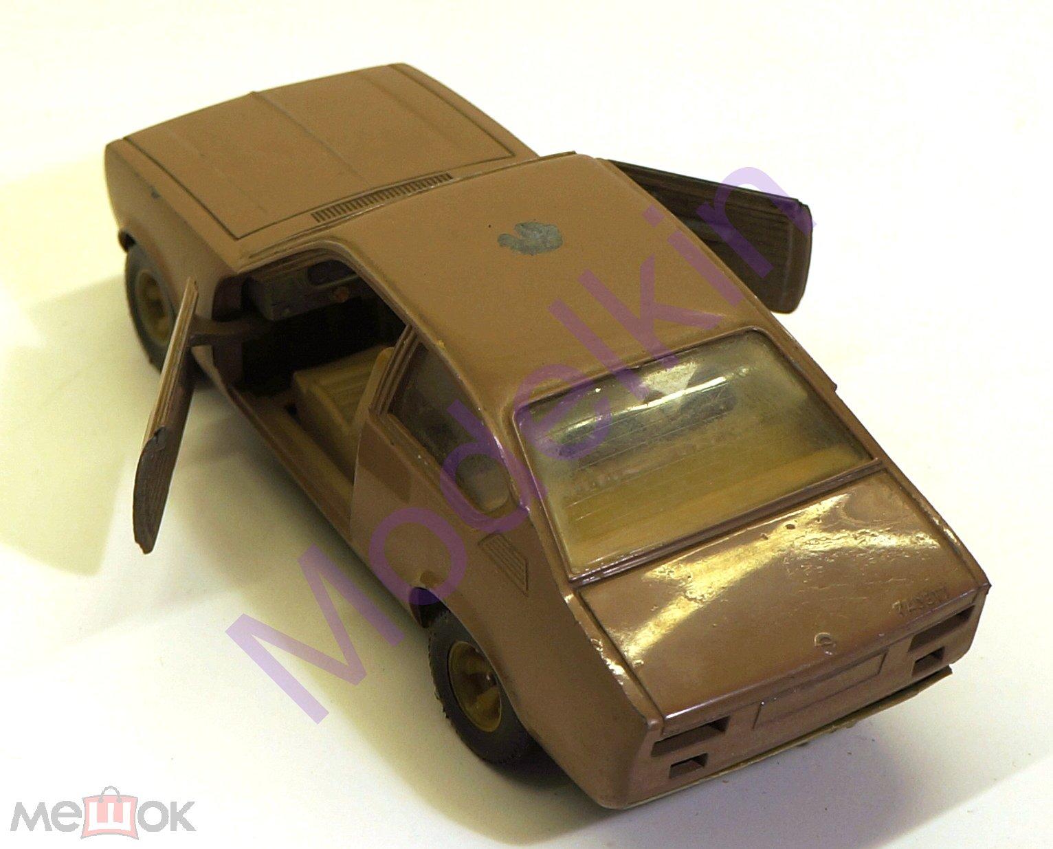 Opel Kadett Coupe ремейк Сихарули 1/24 СССР