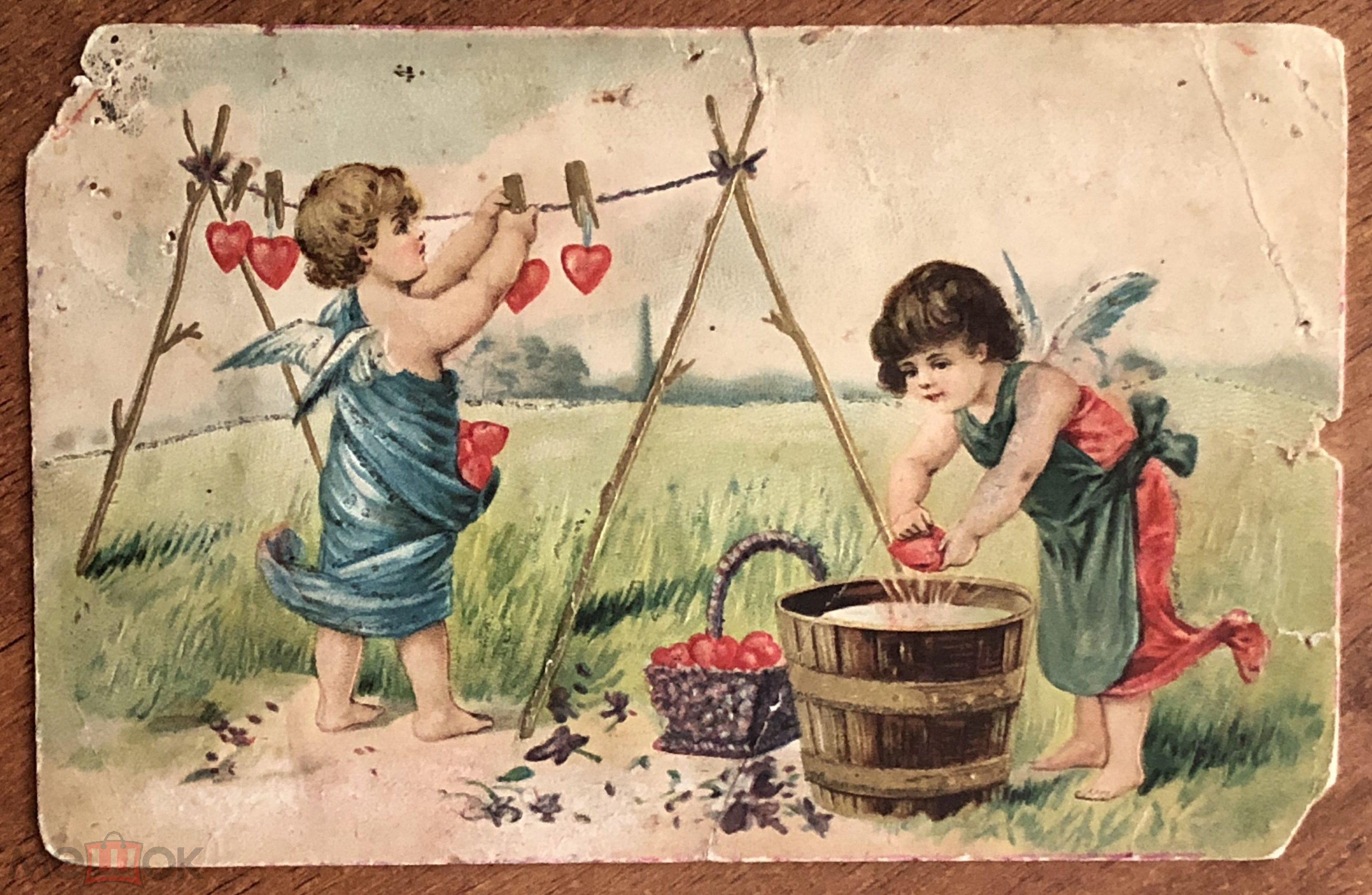 Картинках, старые открытки до 1920