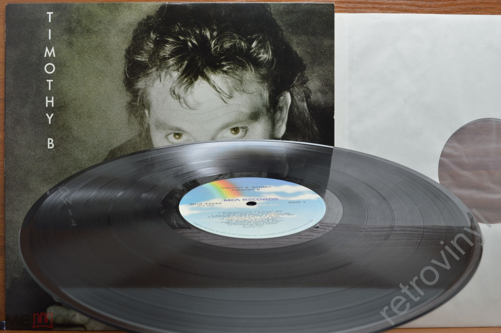 TIMOTHY B SCHMIT (The Eagles, Poco) - Timothy B - MCA-42049 MCA Records ORIGINAL 1987 USA пресс MINT
