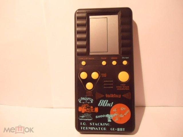 С РУБЛЯ редкая игра электроника тетрис в коробке игра для детей взрослых начало-середина 1990 гг