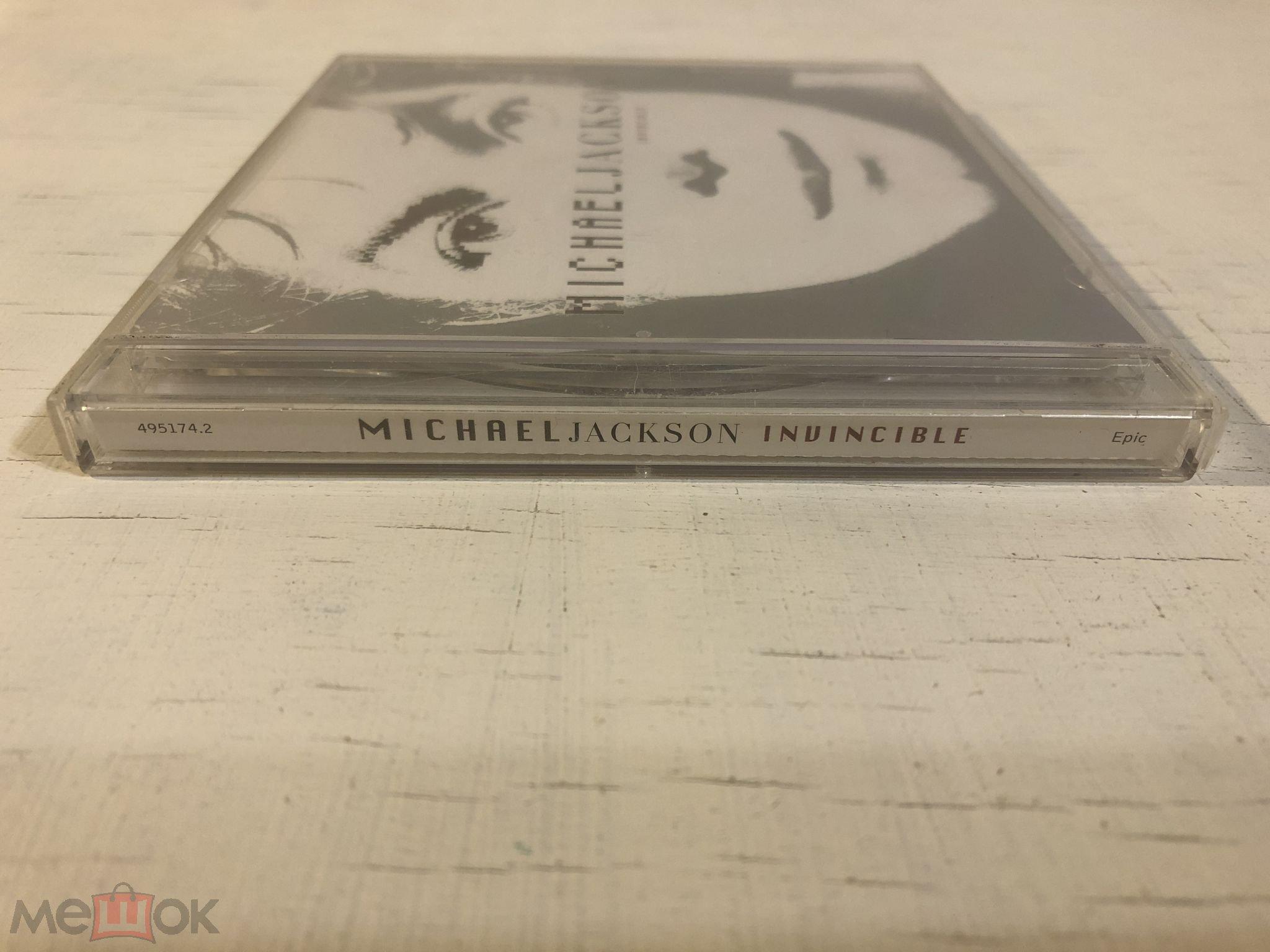 CD MICHAEL JACKSON - Invincible (2001) EU (495174.2) Hip Hop, Pop