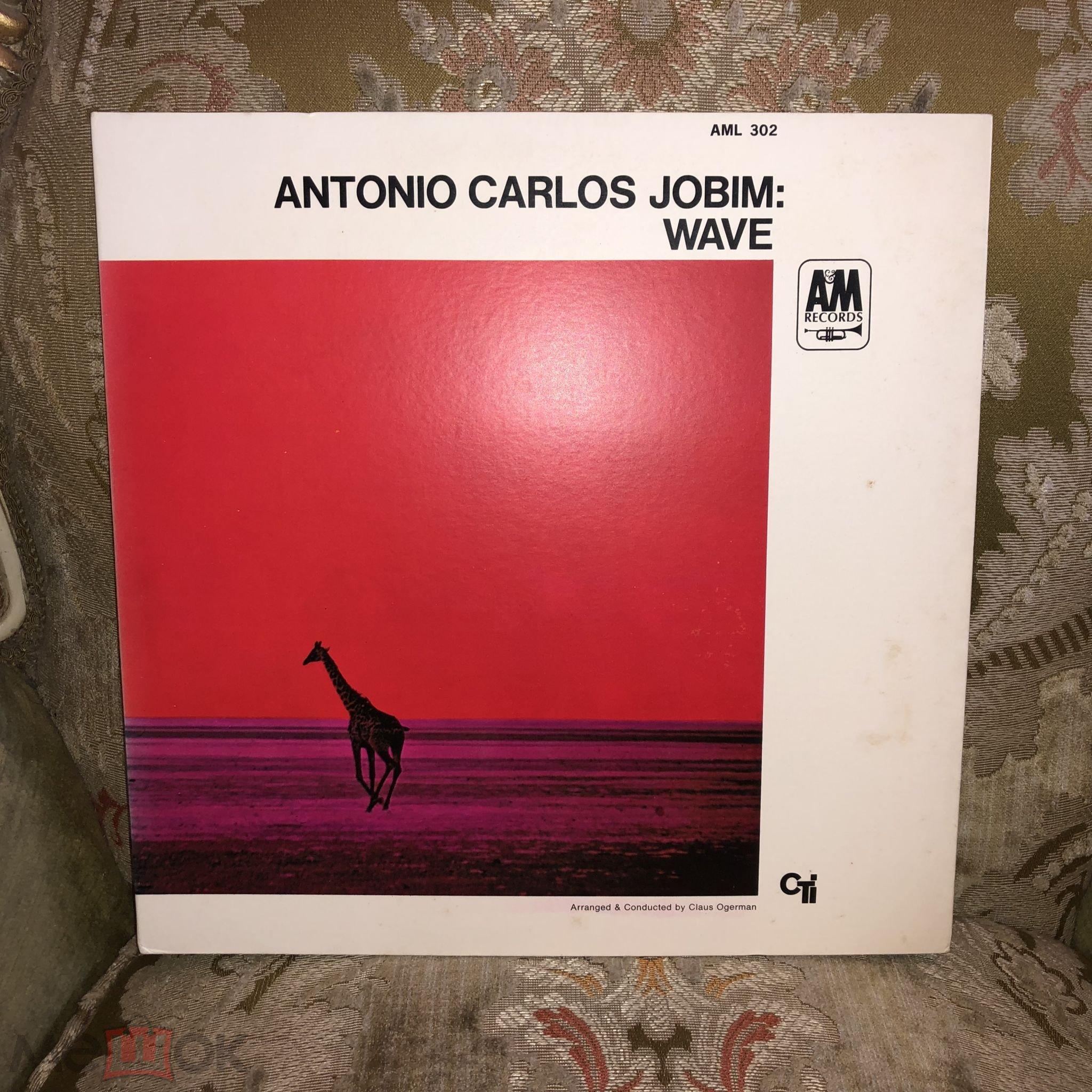 Antonio Carlos Jobim – Wave   A&M Records – AML 302 1968 Japan  EX  ОТ 1 РУБЛЯ