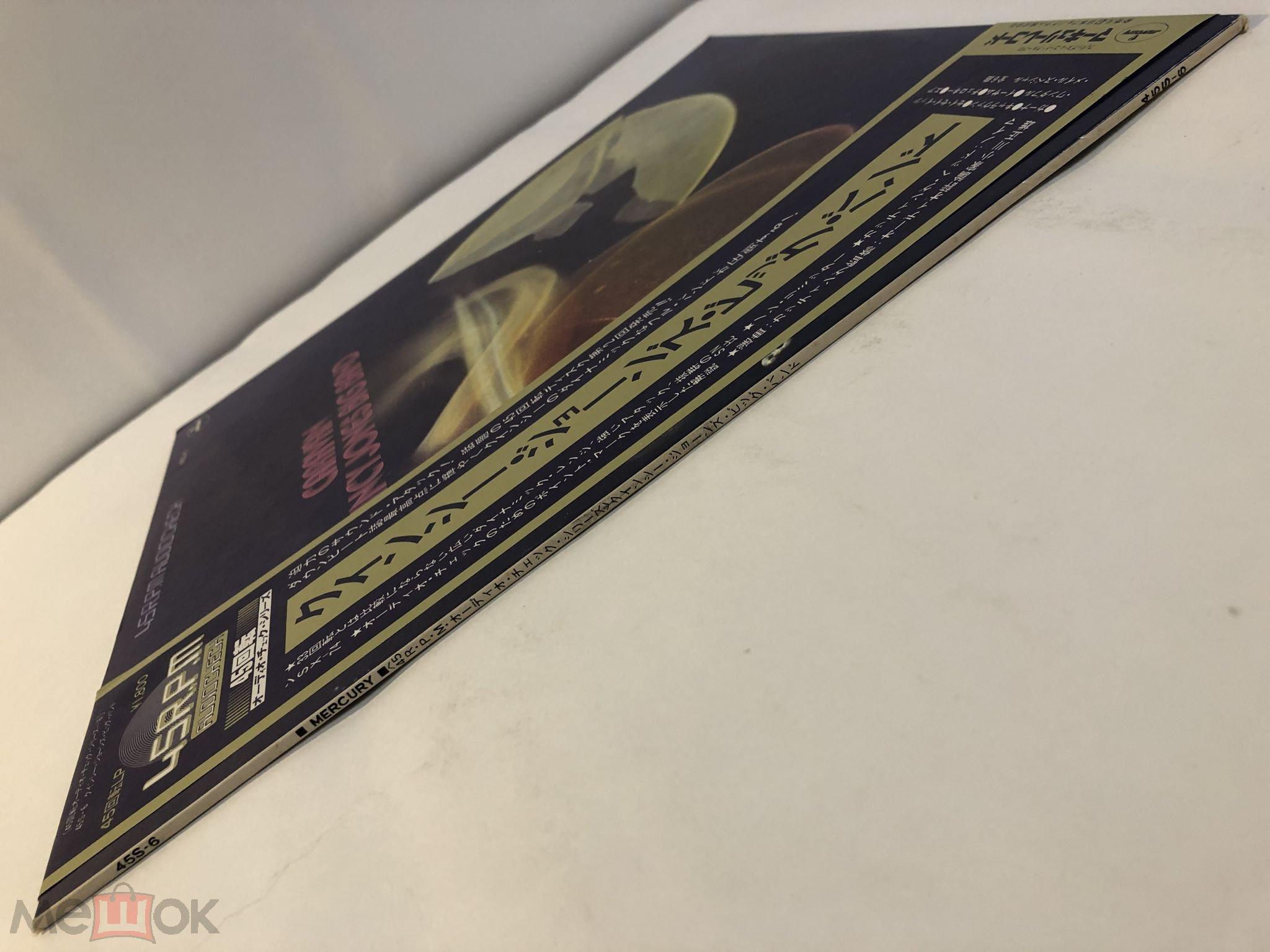 LP QUINCY JONES BIG BAND - Caravan (1977) JAPAN (45S-6) OBI NM-/NM