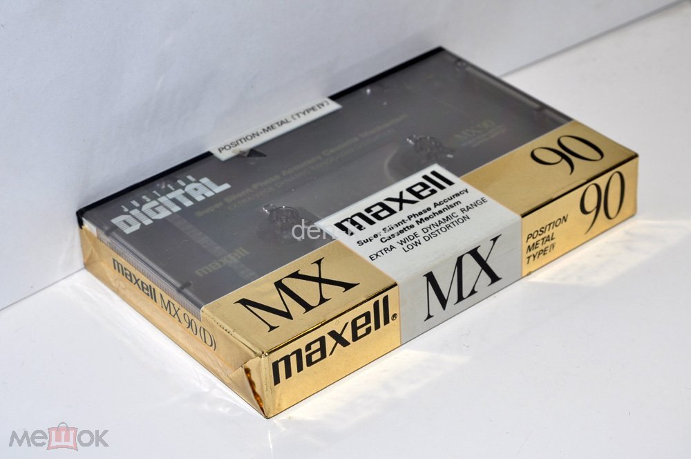 maxell MX 90 1990г (Type IV) JAPAN MARKET (3272)
