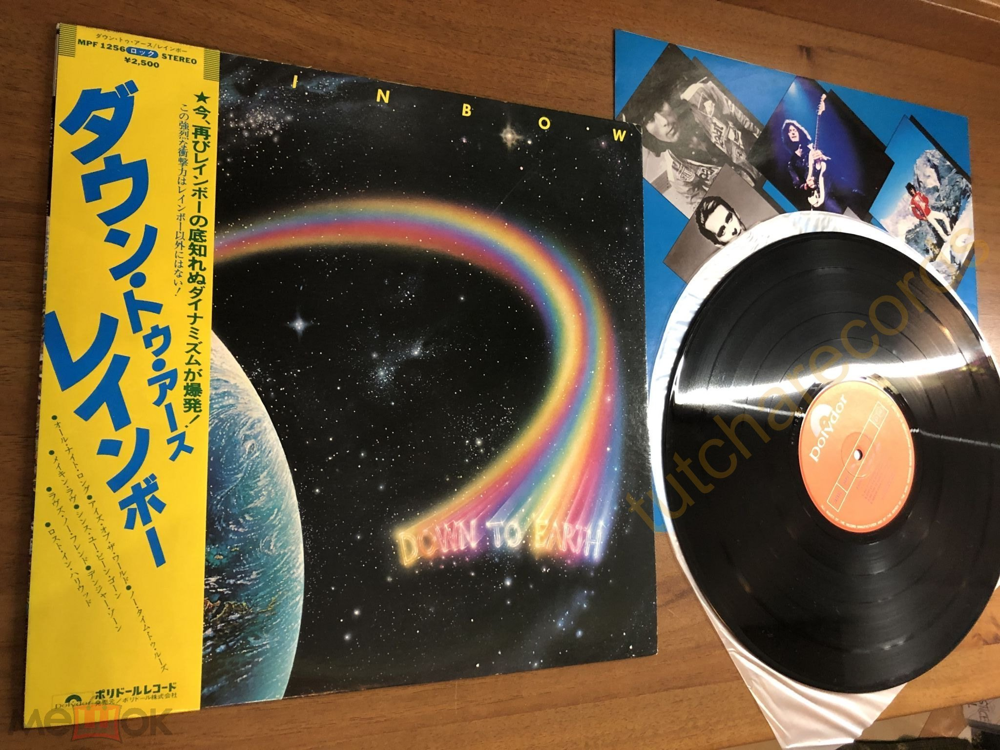 Rainbow ‎– Down To Earth - LP - Polydor ‎– MPF 1256‎ –1ST JAPAN - ORIGINAL 1979 MINT от 1 рубля