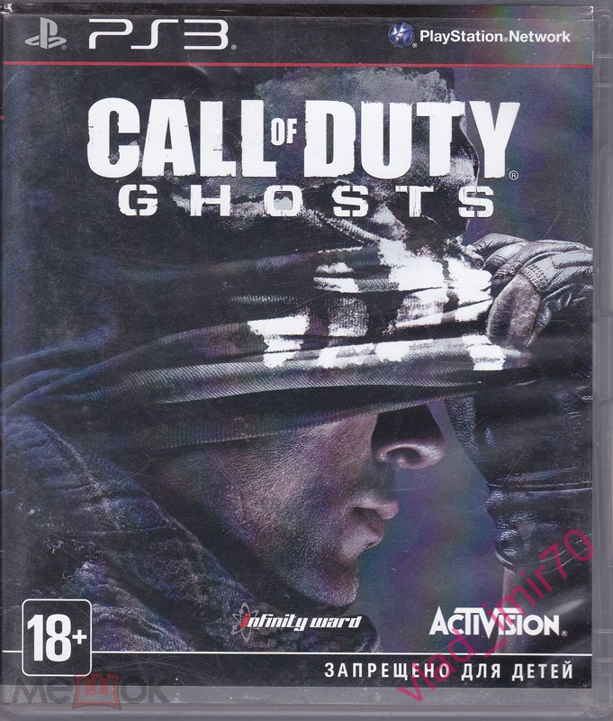 Игра PlayStation 3 PS3, Call of Duty, Ghosts