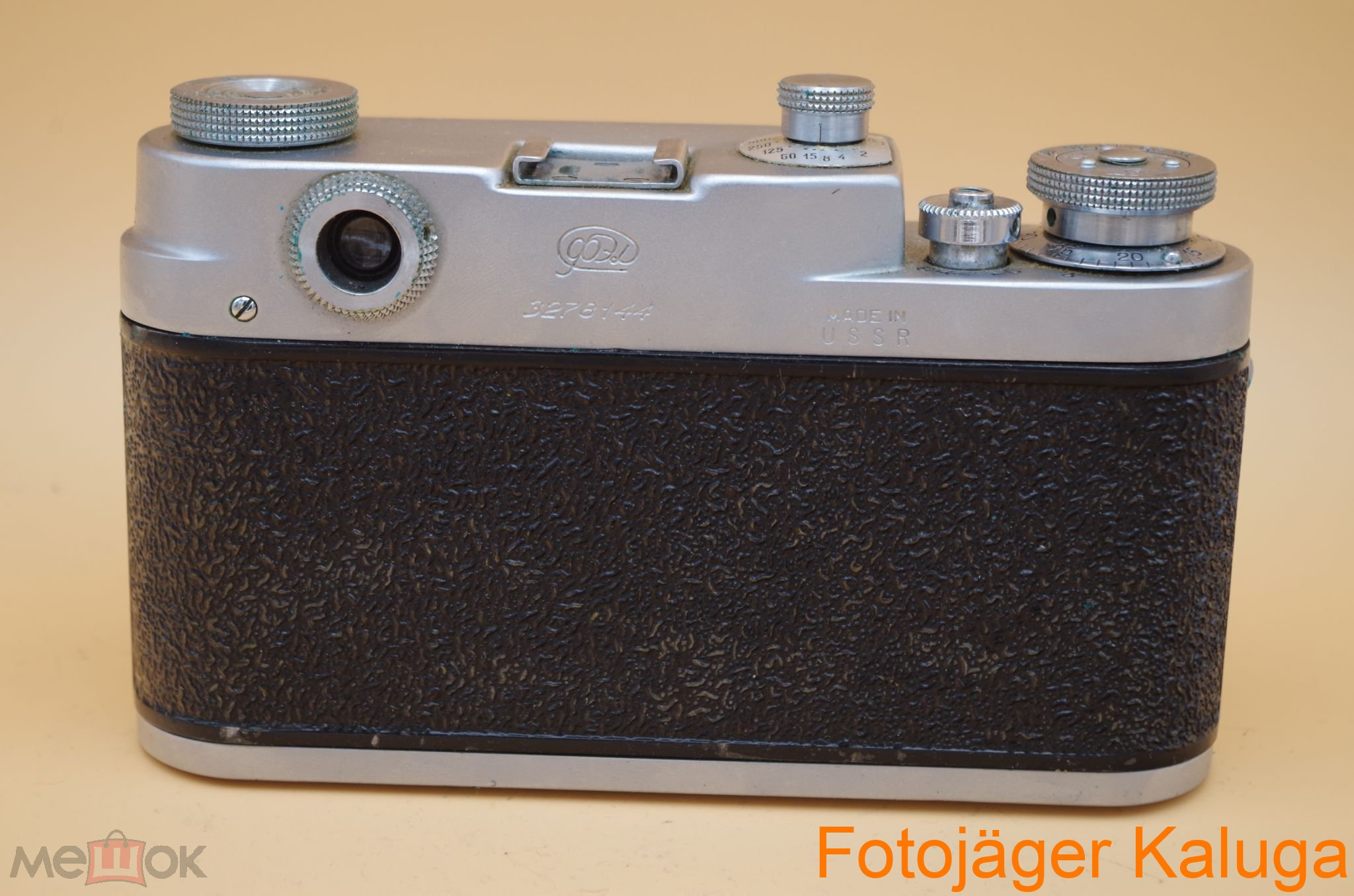"""Коробочный вариант фотоаппарата ФЭД-3Л №3278144 """"горбатый"""" с объективом И-61. Как новый! Времён СССР"""