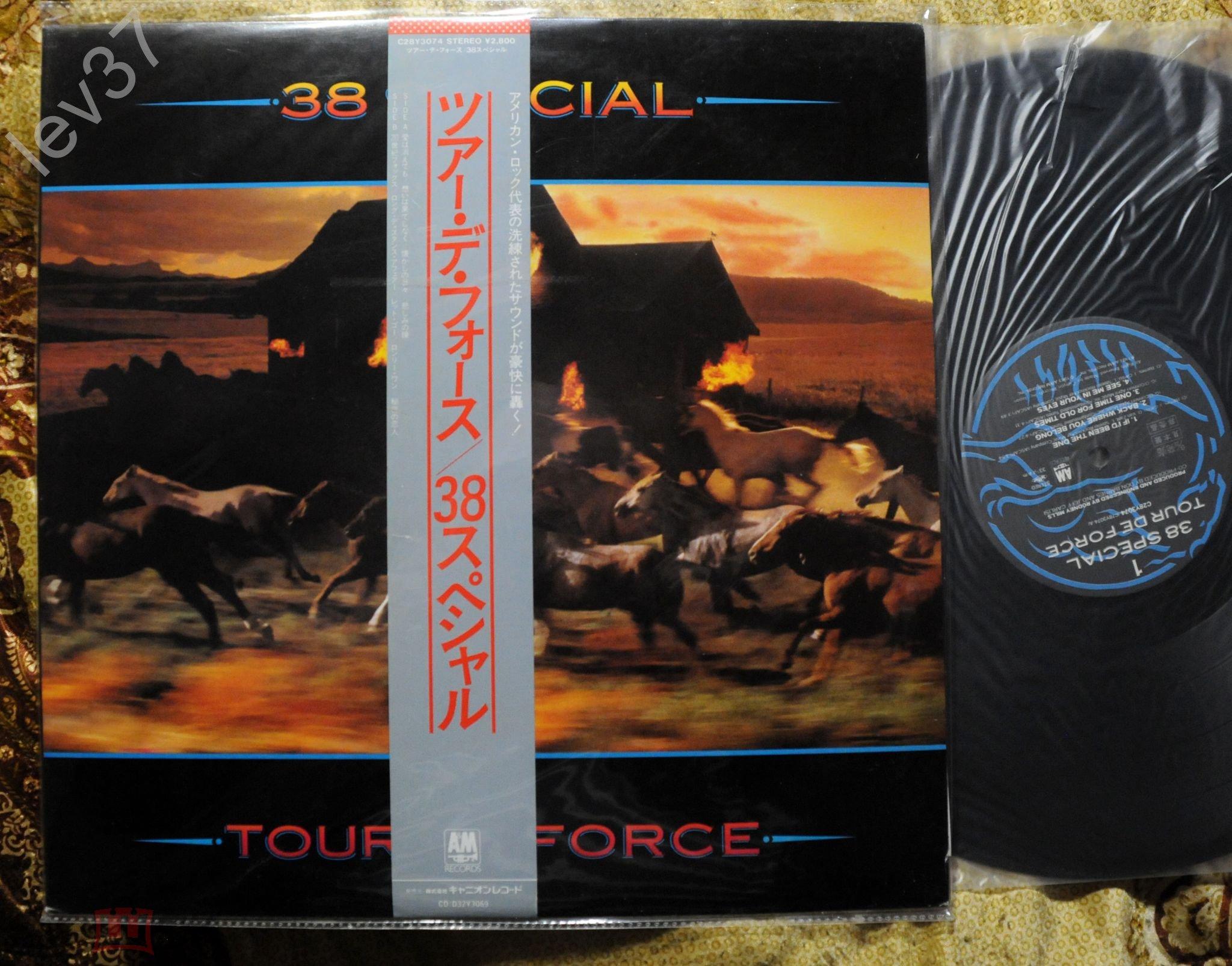 38 special - . Tour de Force.1983 japan(вкладки)