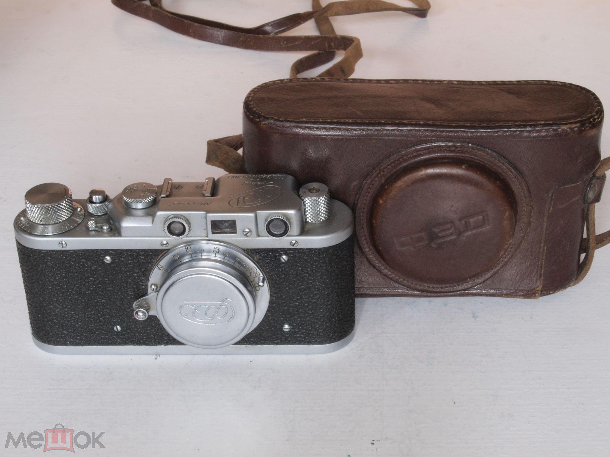 Фотоаппарат ФЭД завод им. Дзержинского 1949 года . Редкий !