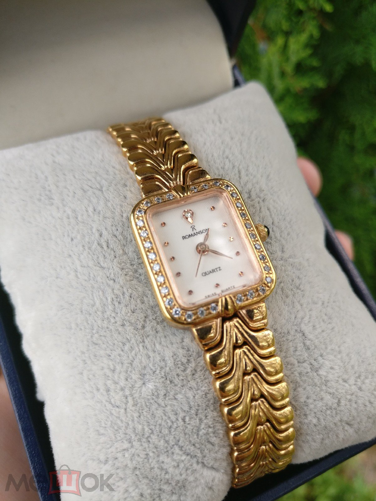 Часы женские с браслетом Romanson оригинал