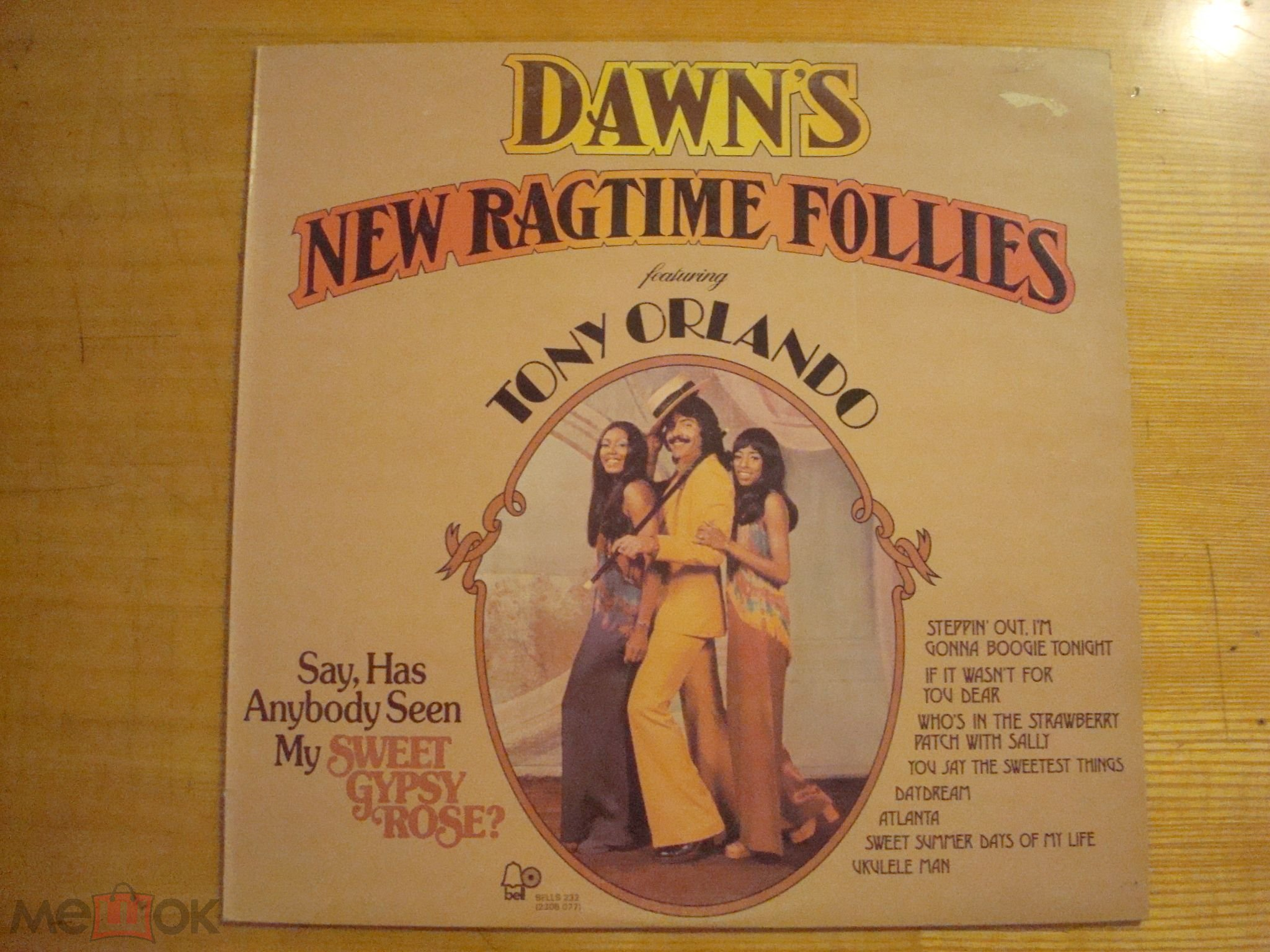 DAWN'S NEW RAGTIME FOLLIES featuring Tony Orlando - 1973 Bell / England - NM