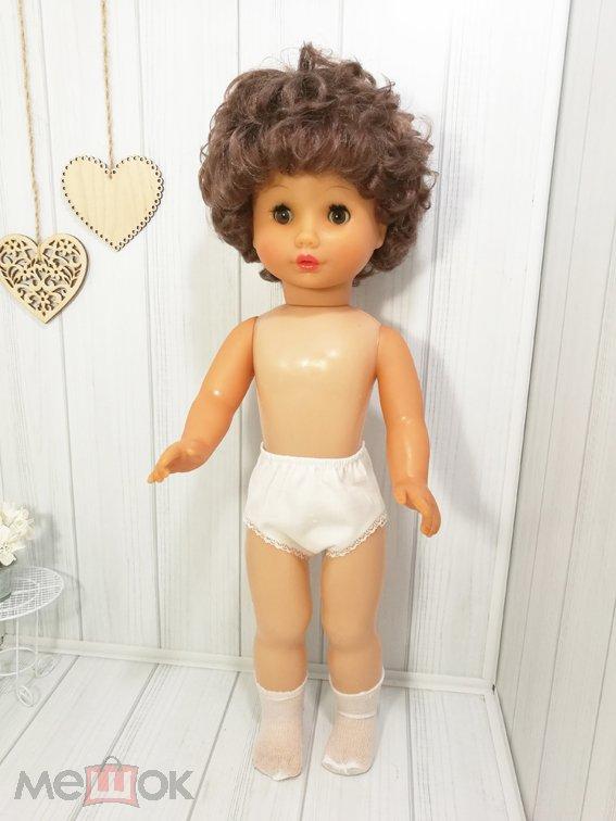 Кукла ГДР Бигги-Biggi кареглазая брюнетка 53 см./ номерная/ в родной одежде (КГ53)