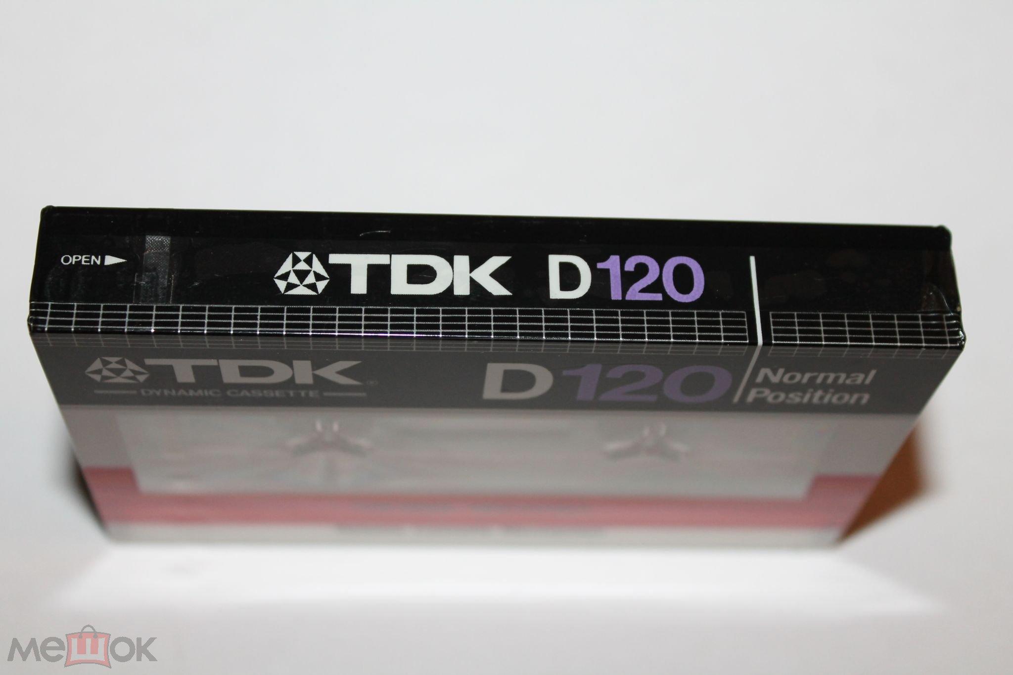 TDK D 120 1982 год japan
