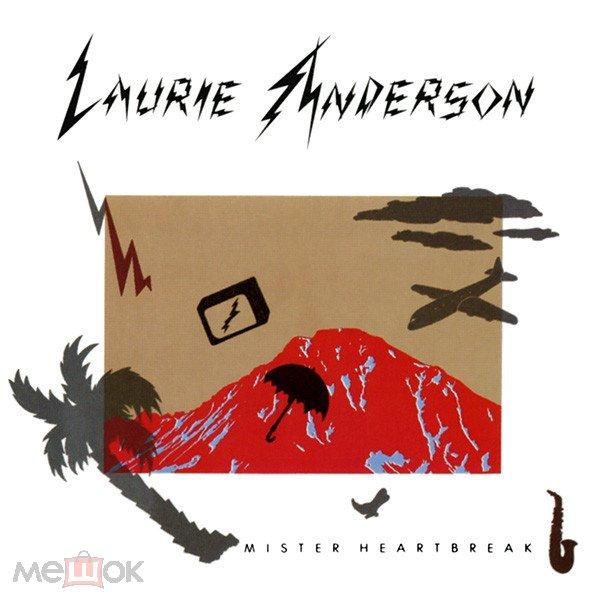 LP (electronic)  Laurie Anderson – Mister Heartbreak 1984 USA MINT/MINT