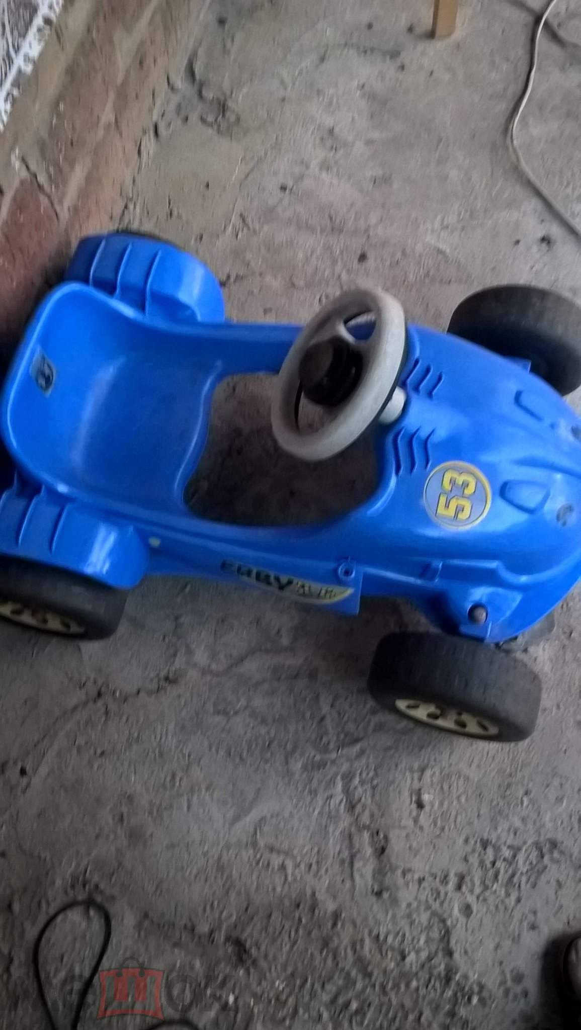 педальная машина