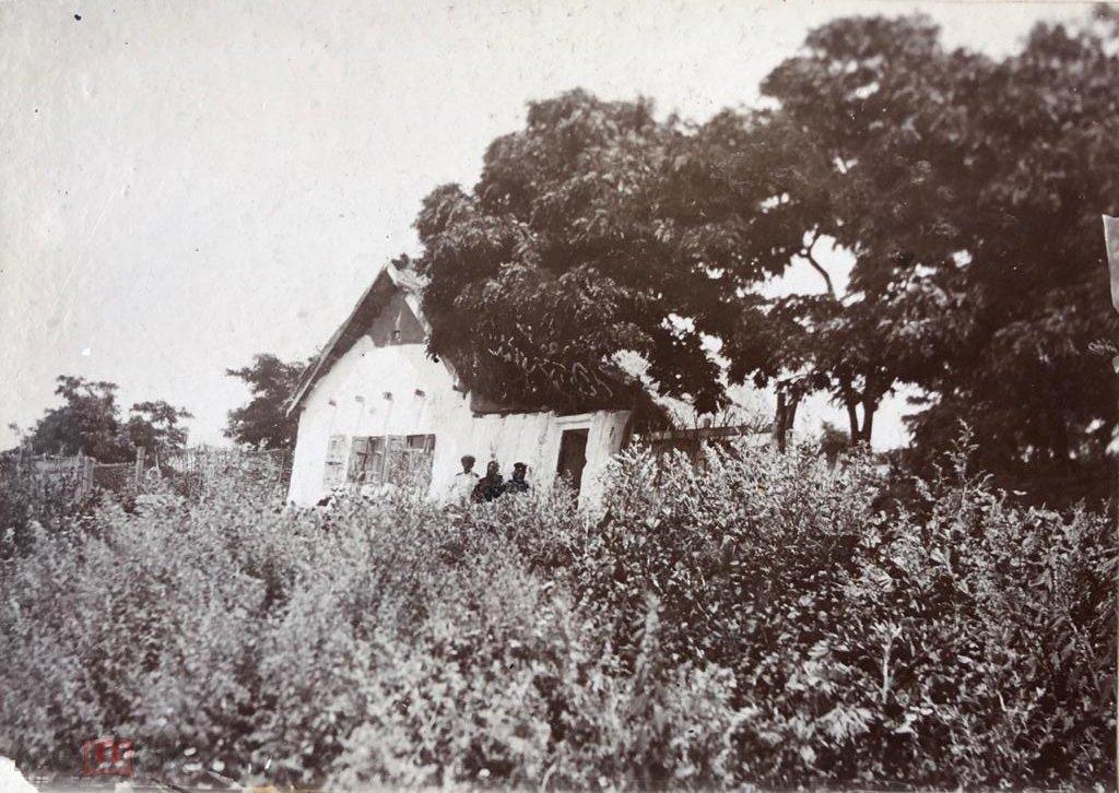 Старинное фото «Дом» г.Пятигорск.