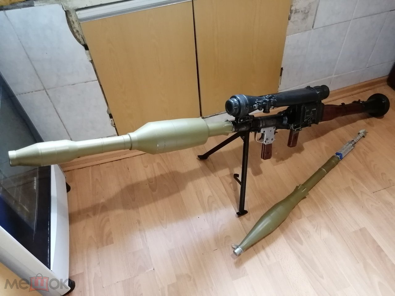 ММГ гранатомета РПГ-7 с выстрелом ПГ-7ВР и прицелом НСПУ