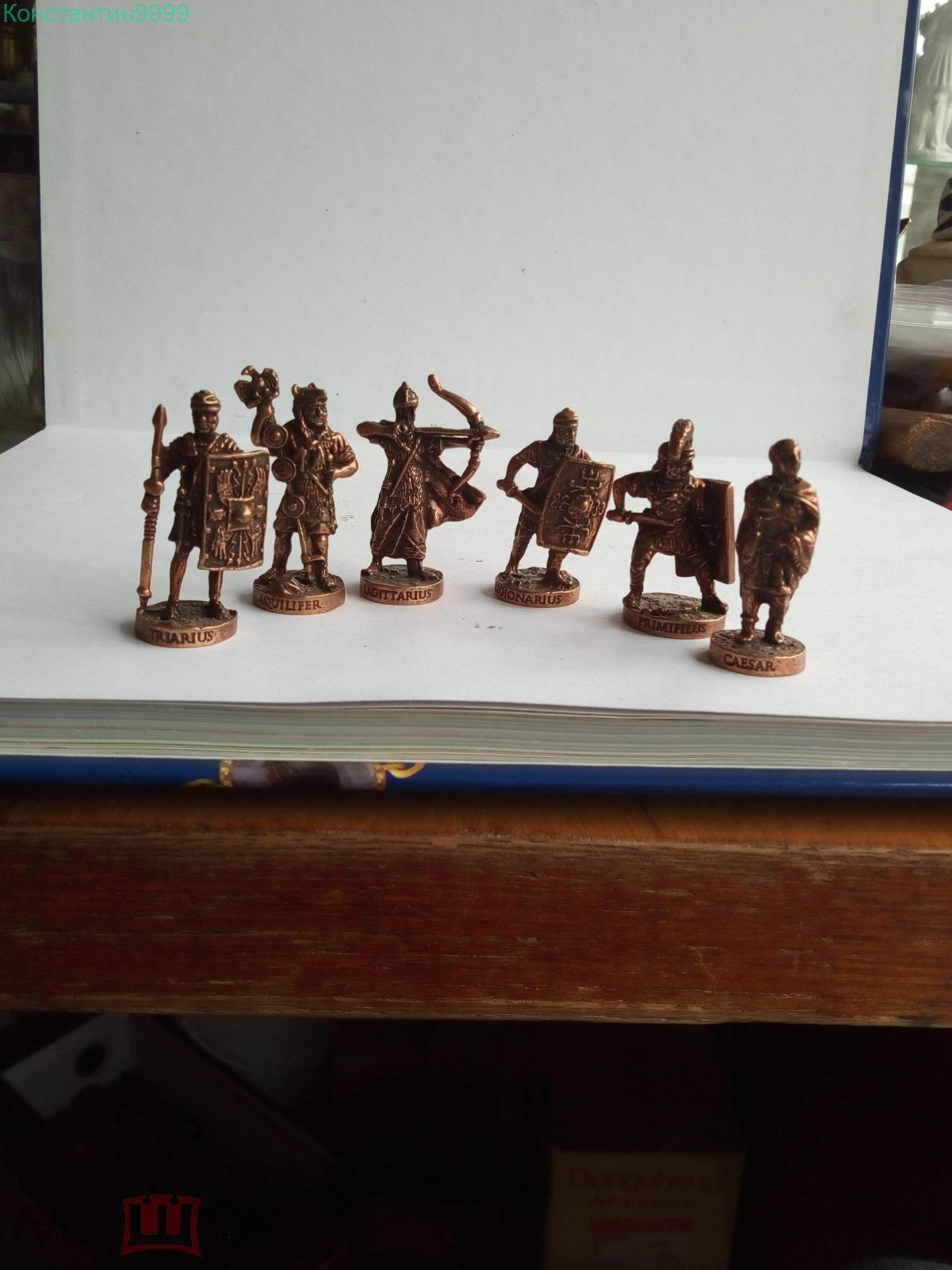 Солдатики из киндеров 6 шт