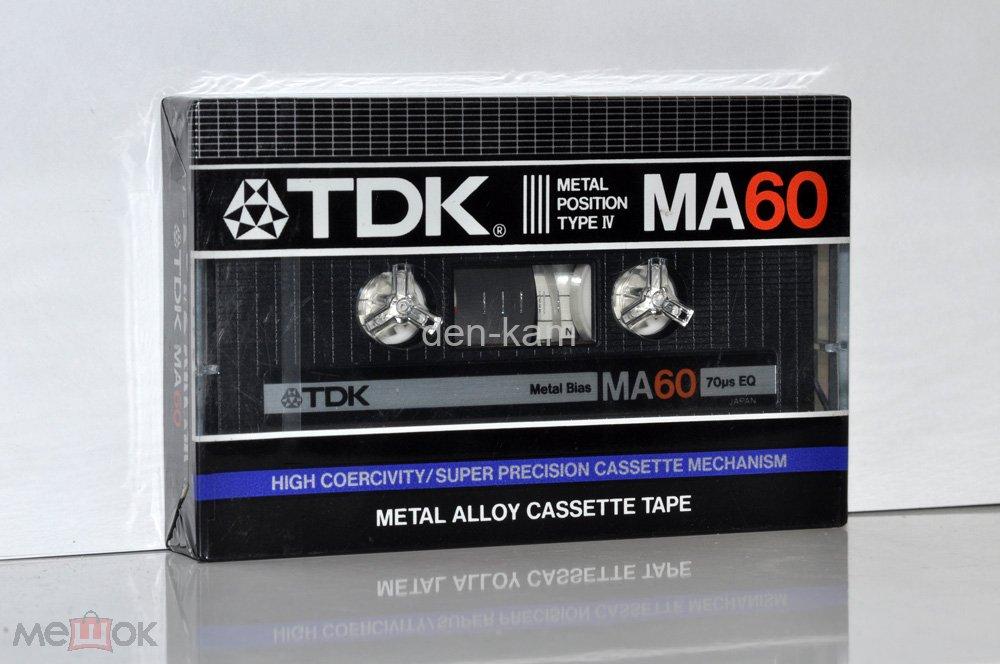 TDK MA 60 1984г  (Type IV) JAPAN MARKET (3172)